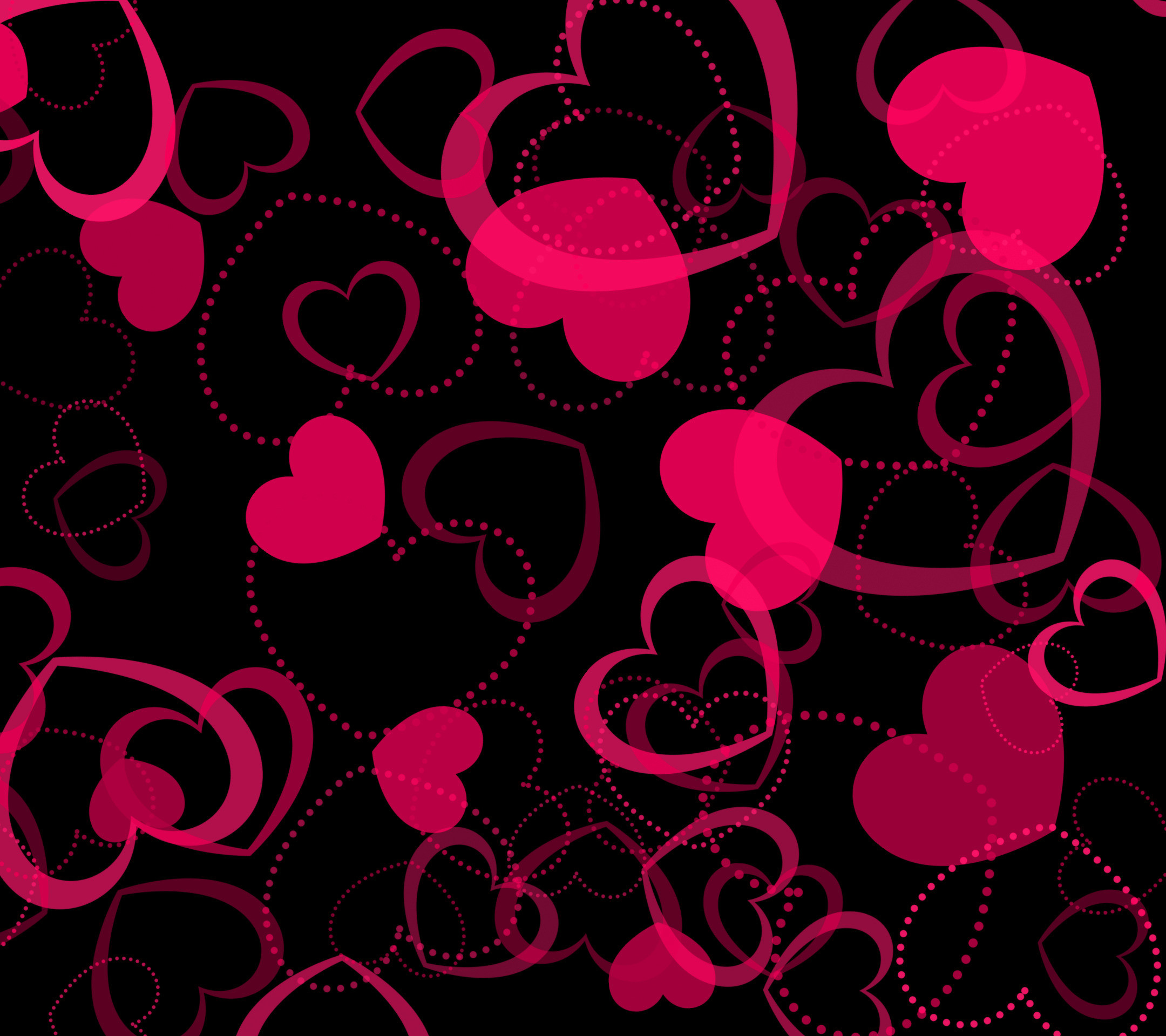 Pink Heart Wallpaper 75 Images