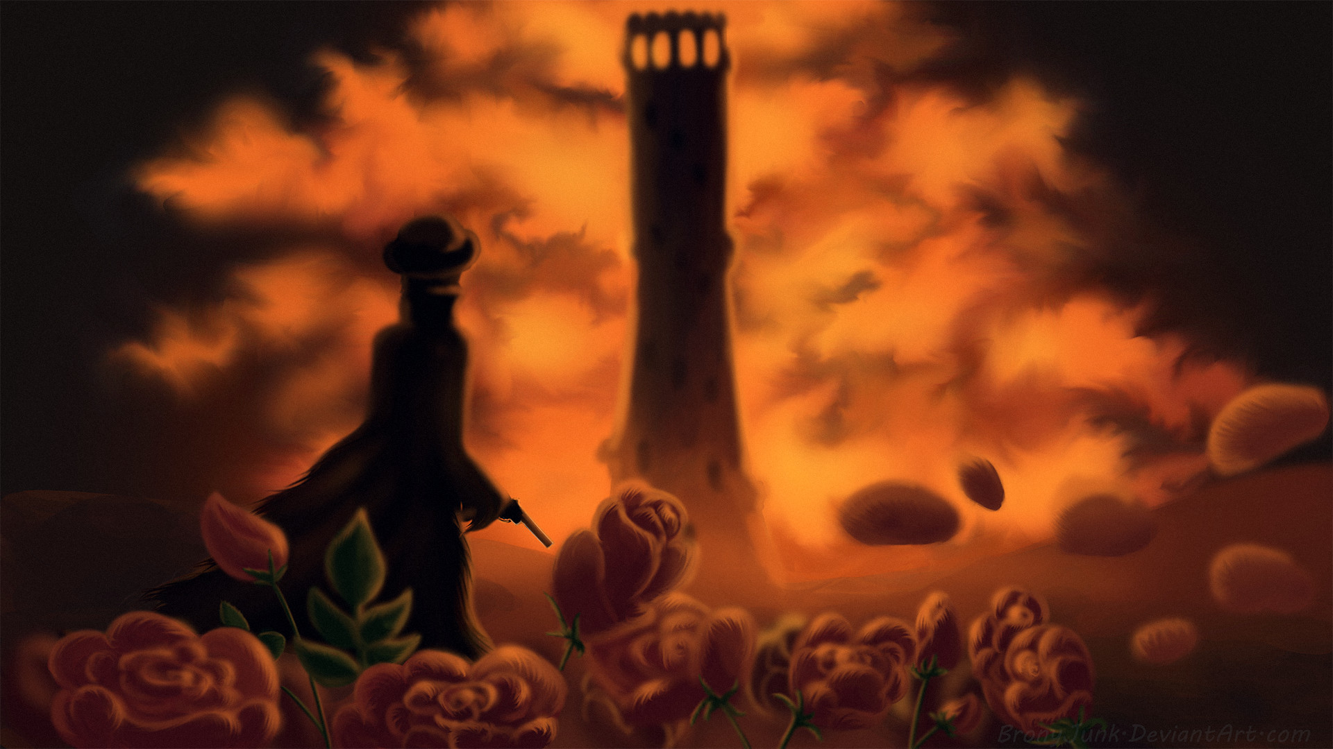 1920x1080 ... Childe Roland to the Dark Tower Came by BronyJunk