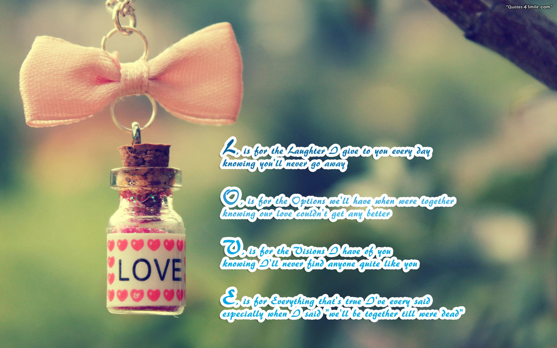 1920x1200 What is True Love Wallpaper · Poems, Quotes Wallpaper