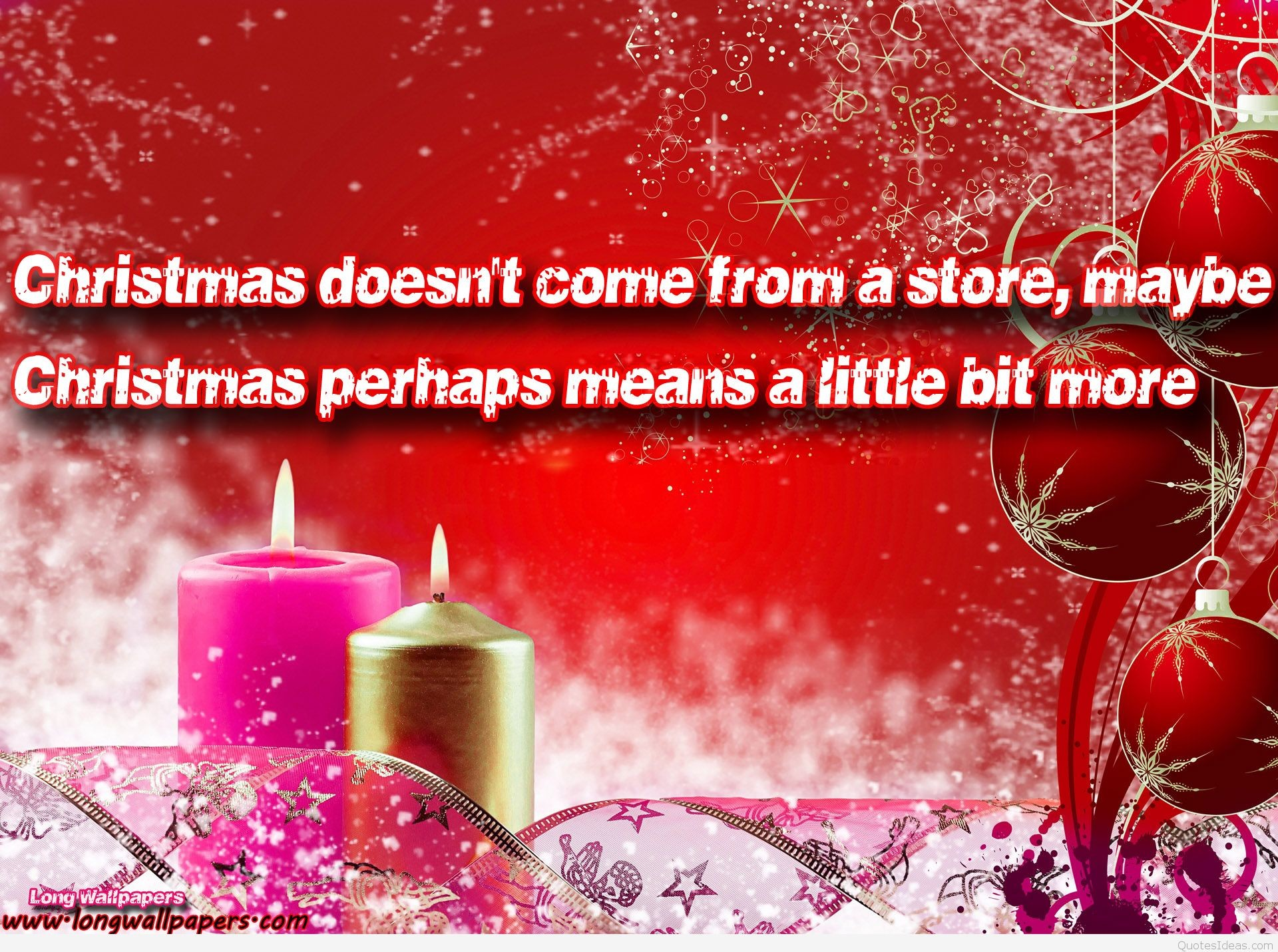 Girly Christmas Wallpapers (60+ Images