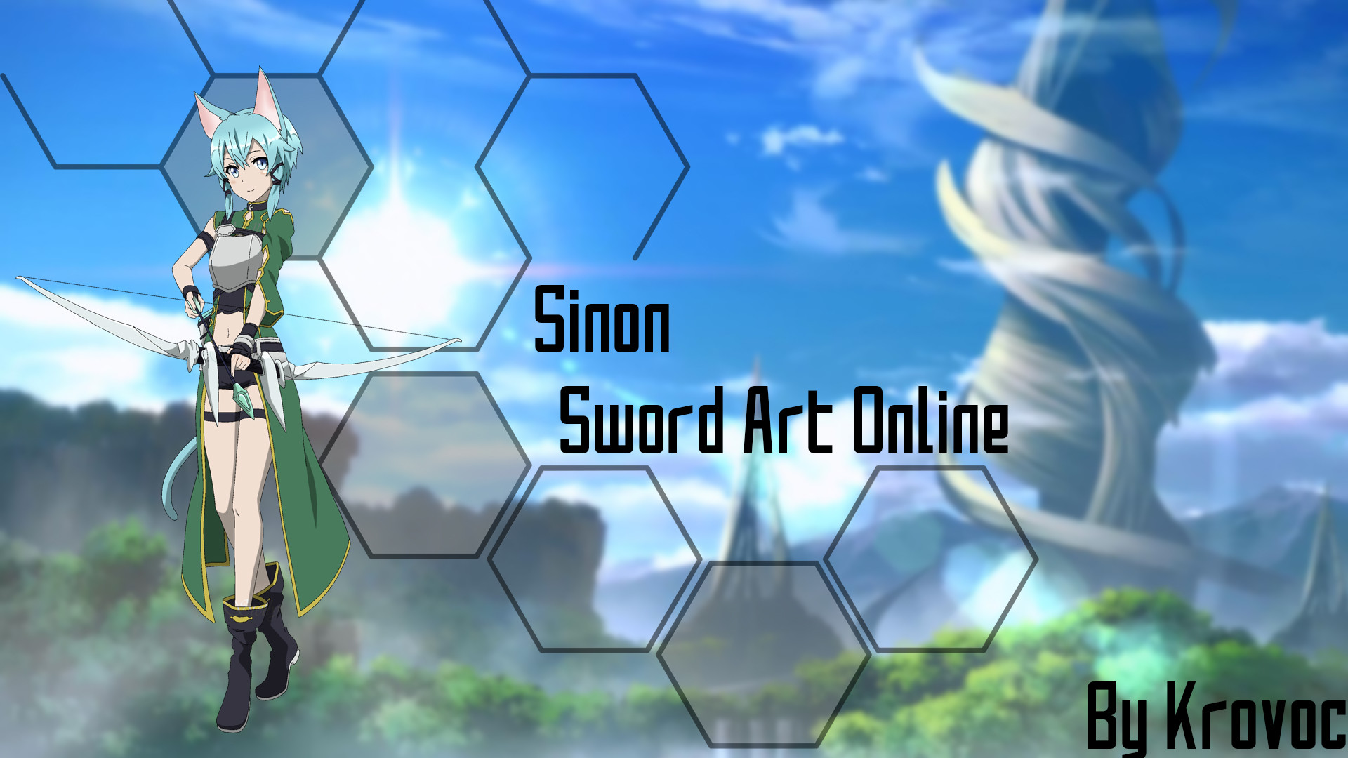 1920x1080 Wallpaper Sinon by Krovoc Wallpaper Sinon by Krovoc