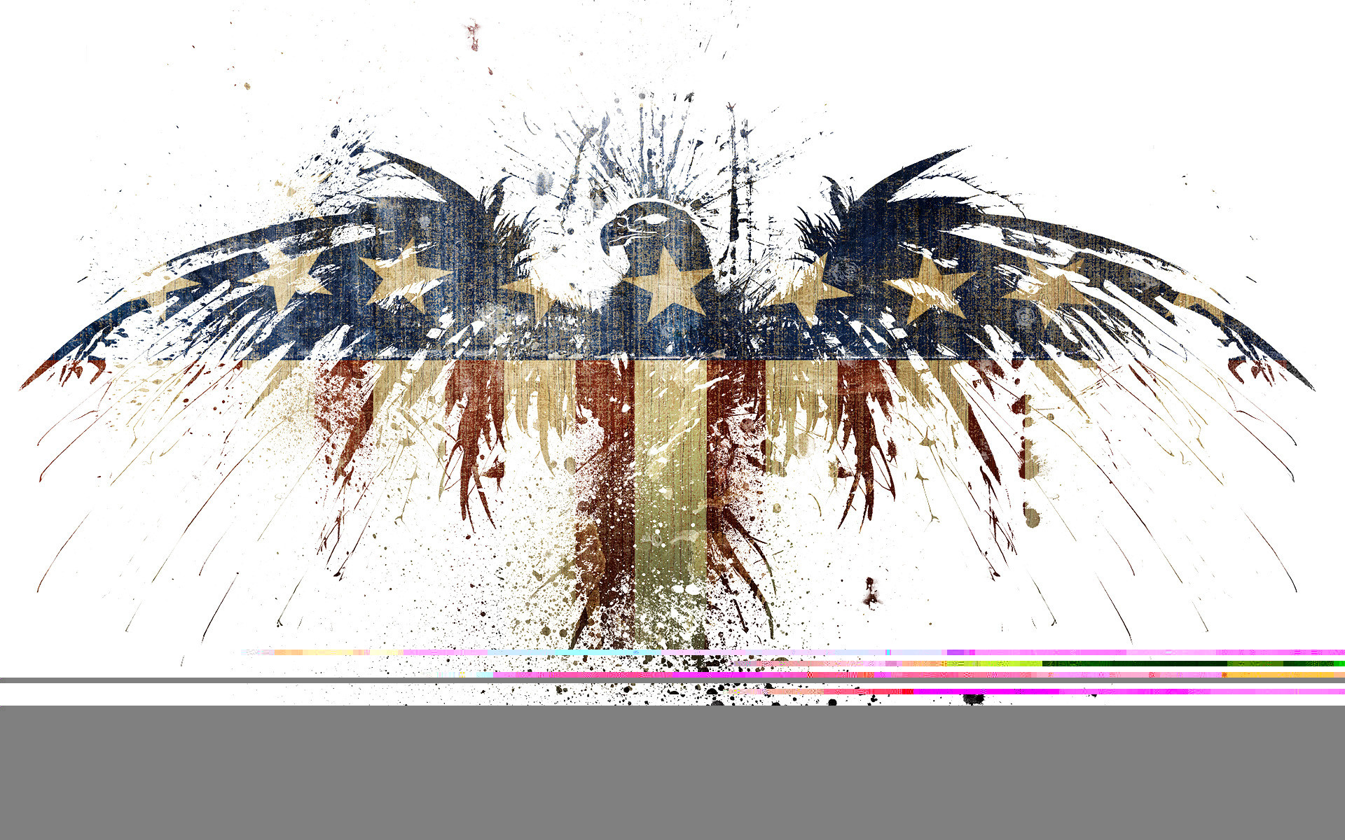 1920x1200 Download American Flag Eagle Wallpaper
