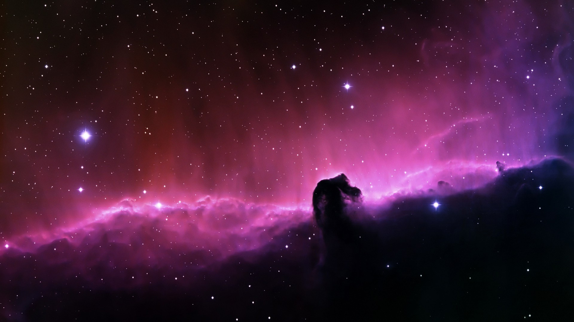 1920x1080 Horsehead Nebula, Nebula, Space, Stars Wallpapers HD / Desktop and Mobile  Backgrounds