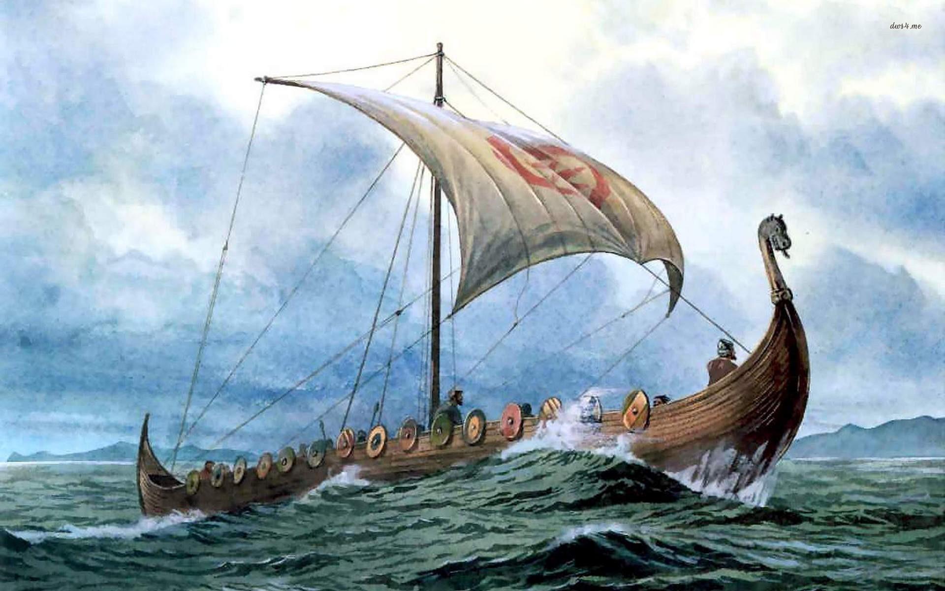 Viking Ship Wallpaper (68+ images)
