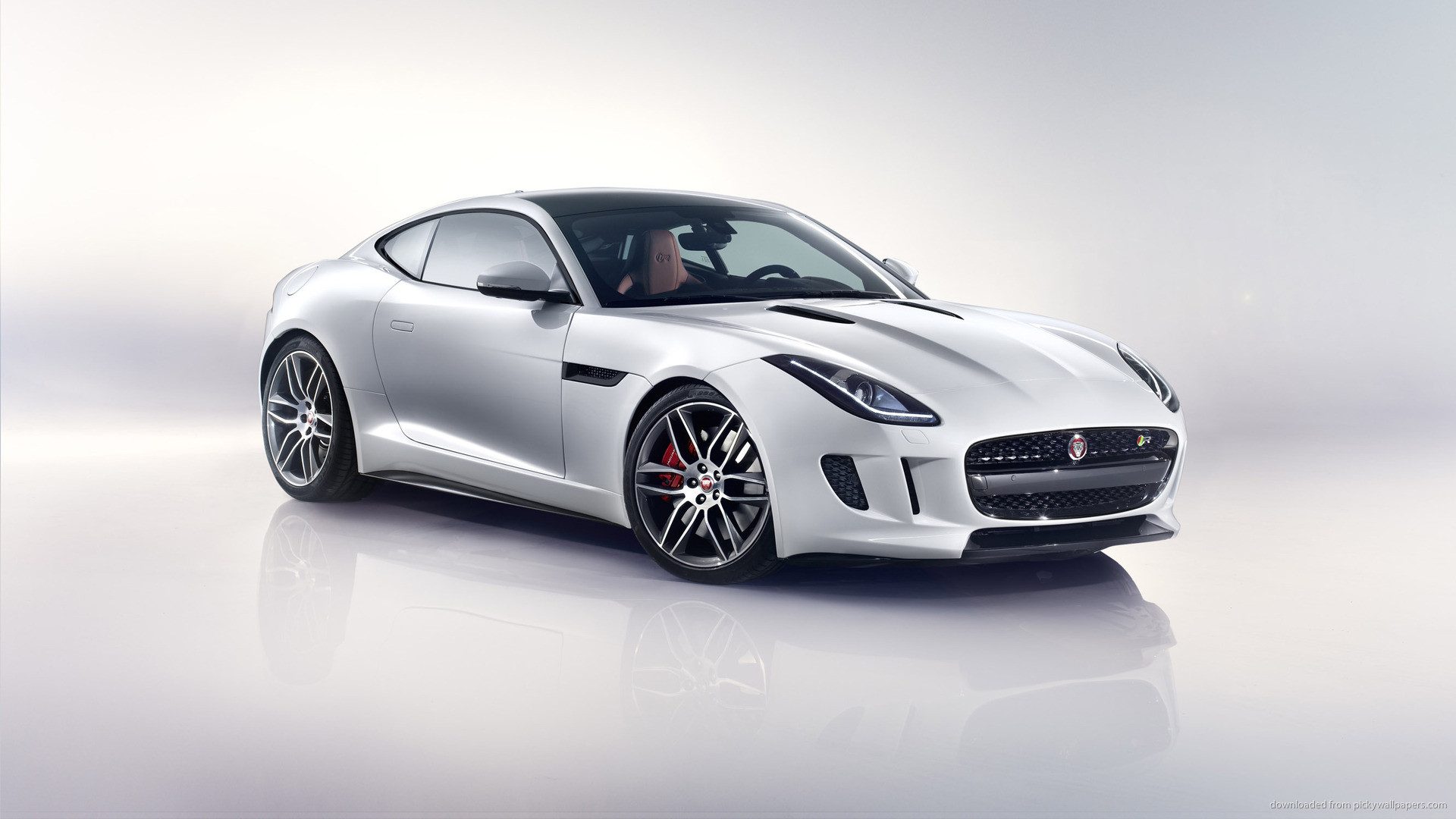 1920x1080 ... Wallpaper Jaguar F Type Coupe Desktop ...