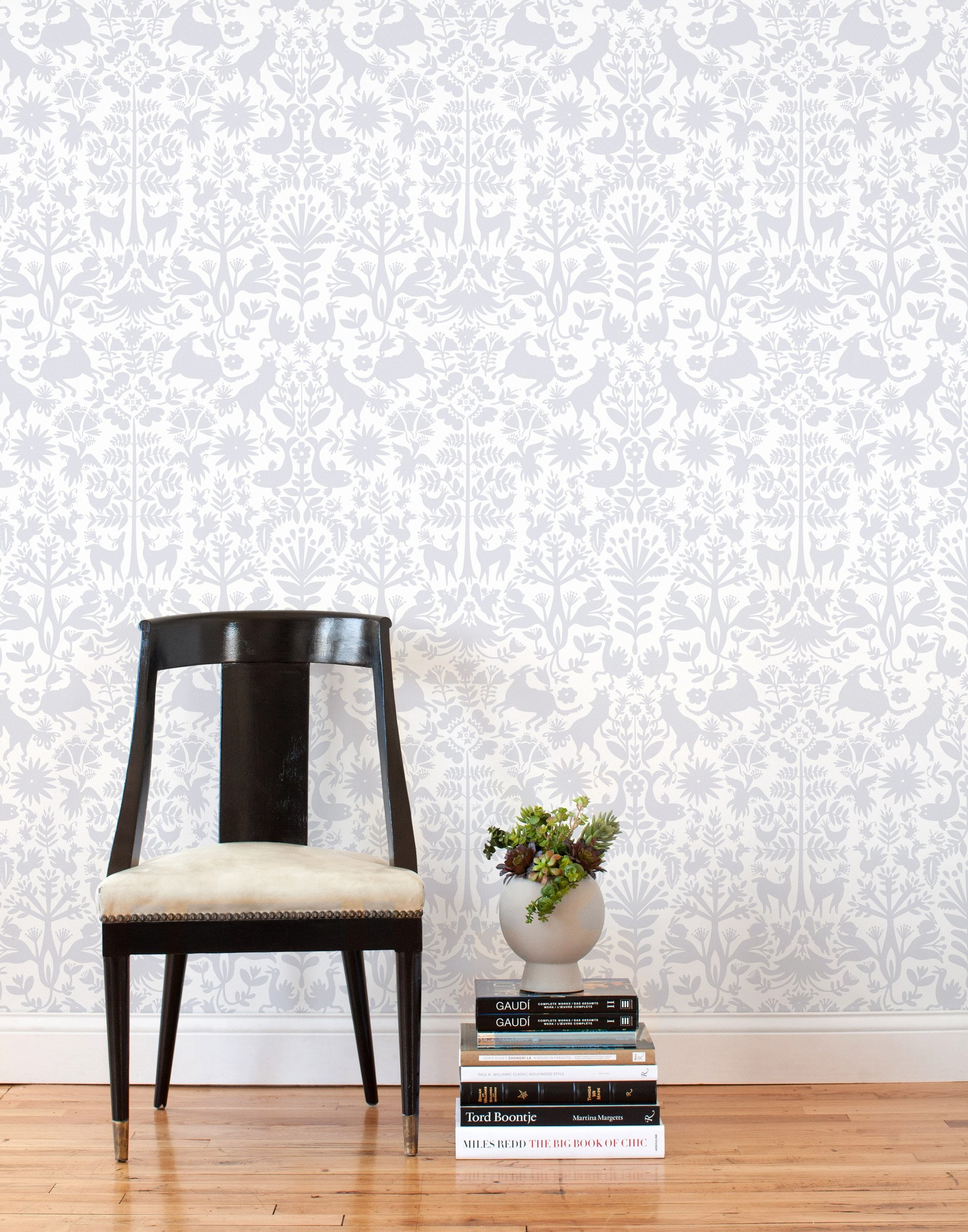 1980x2520 ... Otomi Removable Wallpaper Tile mixes Scandinavian and Mexican  influences in gray on white | Hygge &