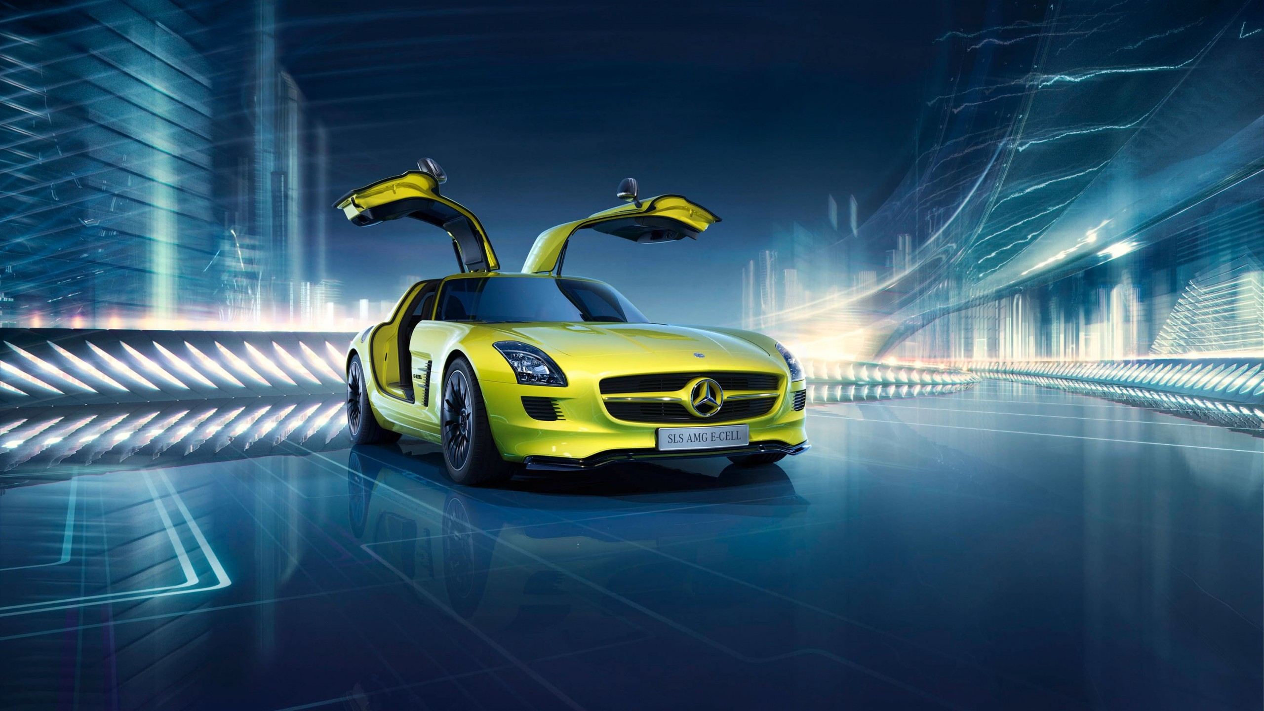 2560x1440 Tags: Mercedes-Benz SLS AMG ...