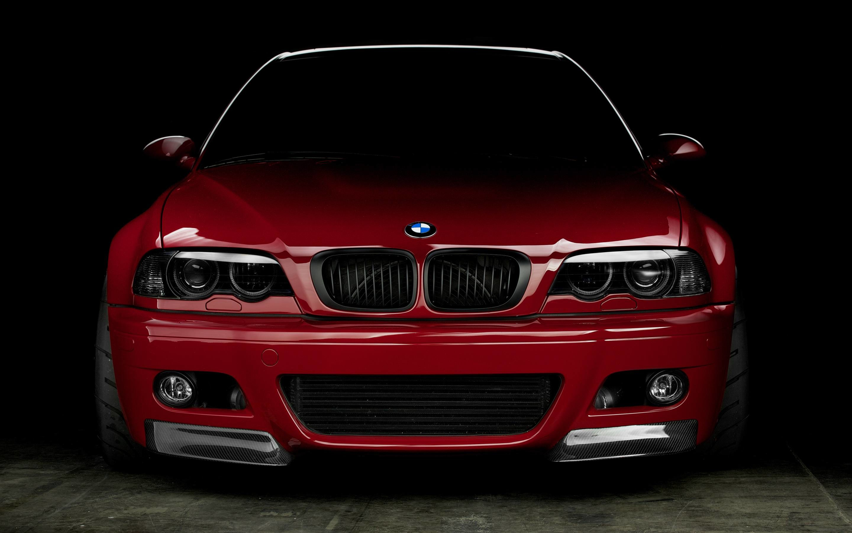 2880x1800 APEX Wallpaper – Imola Red BMW E46 M3