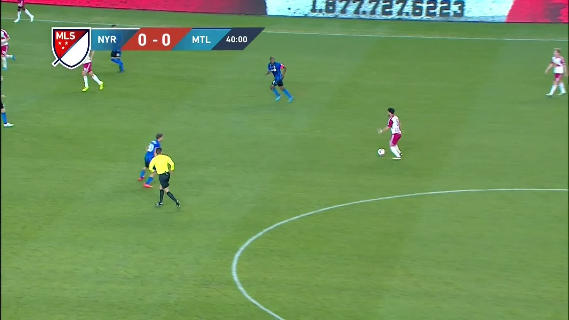 1920x1080 Highlights of the MLS match between New York Red Bulls and Montreal Impact