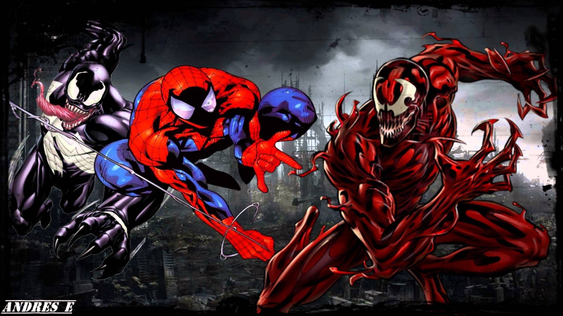 spiderman venom wallpaper 59 images