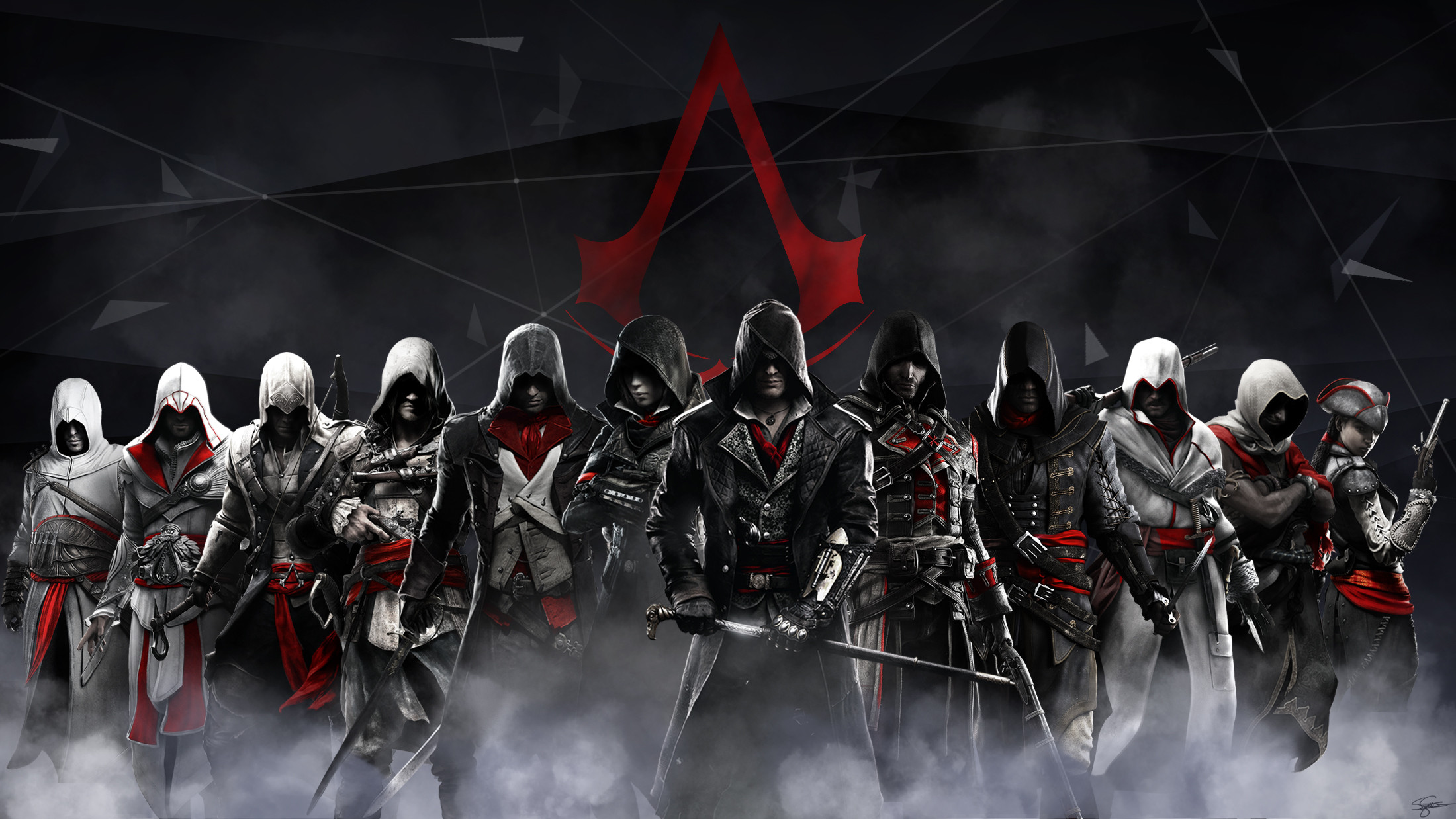 2200x1238 Video Game - Assassin's Creed Wallpaper