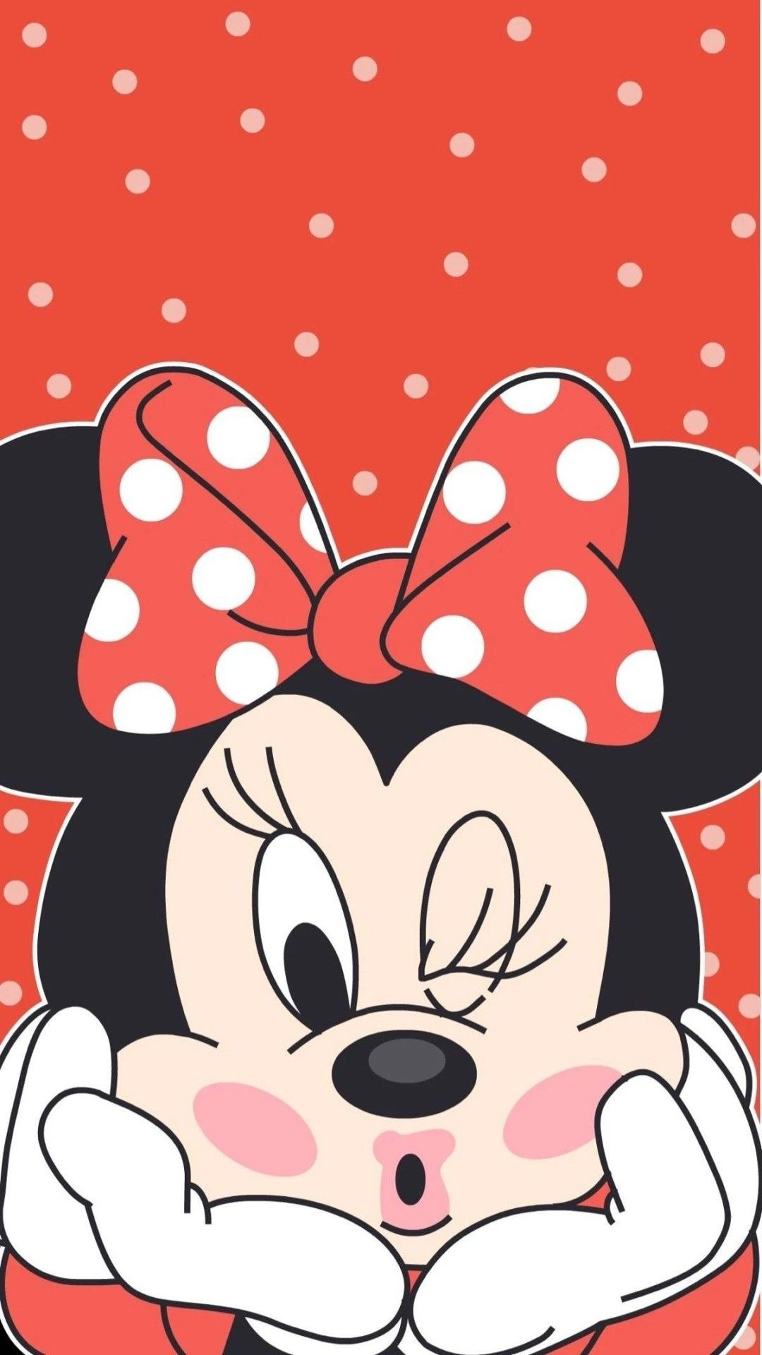 1080x1920 Cute Minnie Wall Funny Wallpapers, Best Iphone Wallpapers, Smartphone  Hintergrund, Mickey Minnie Mouse