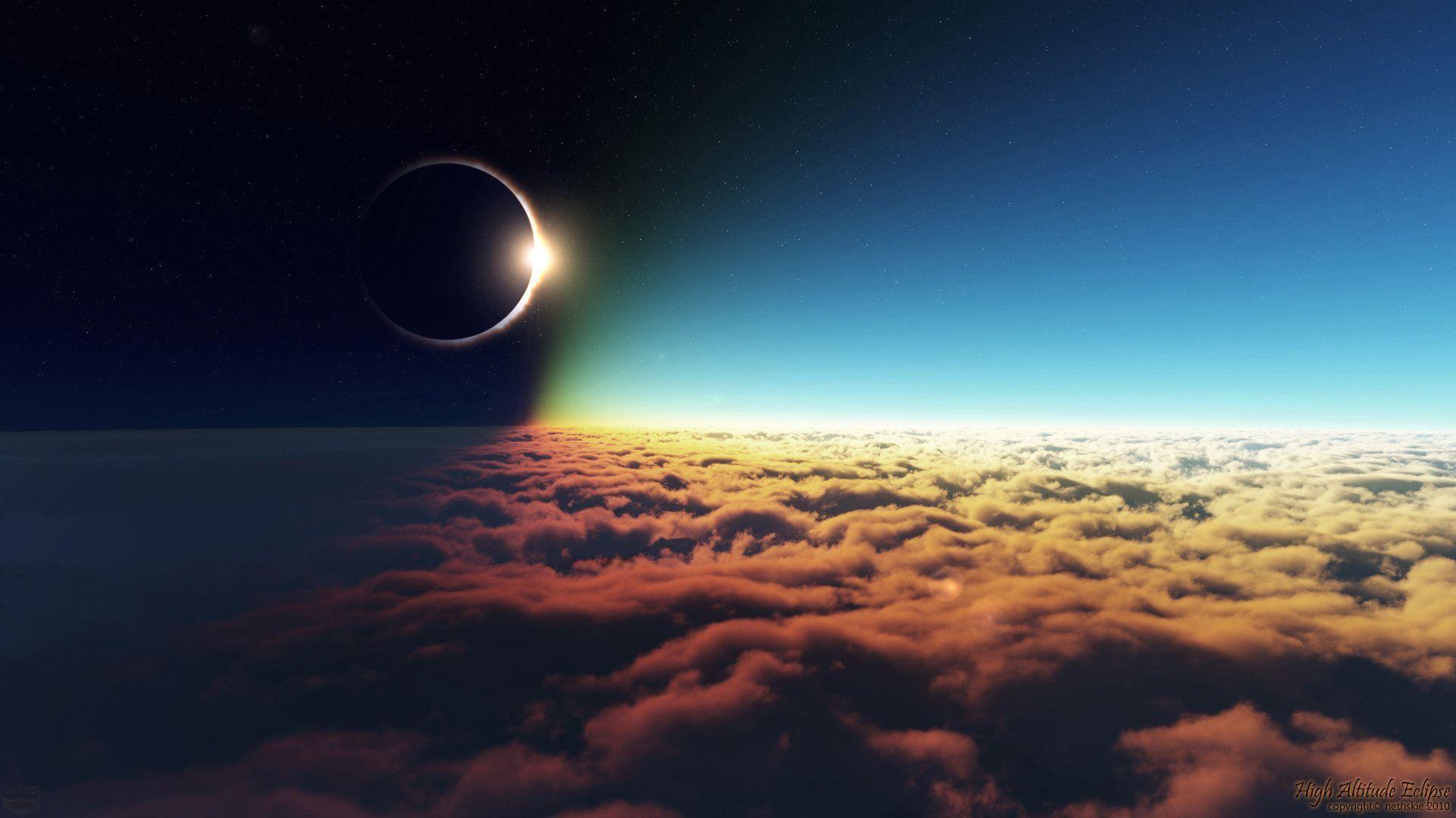Sun And Moon Desktop Wallpaper 56 Images