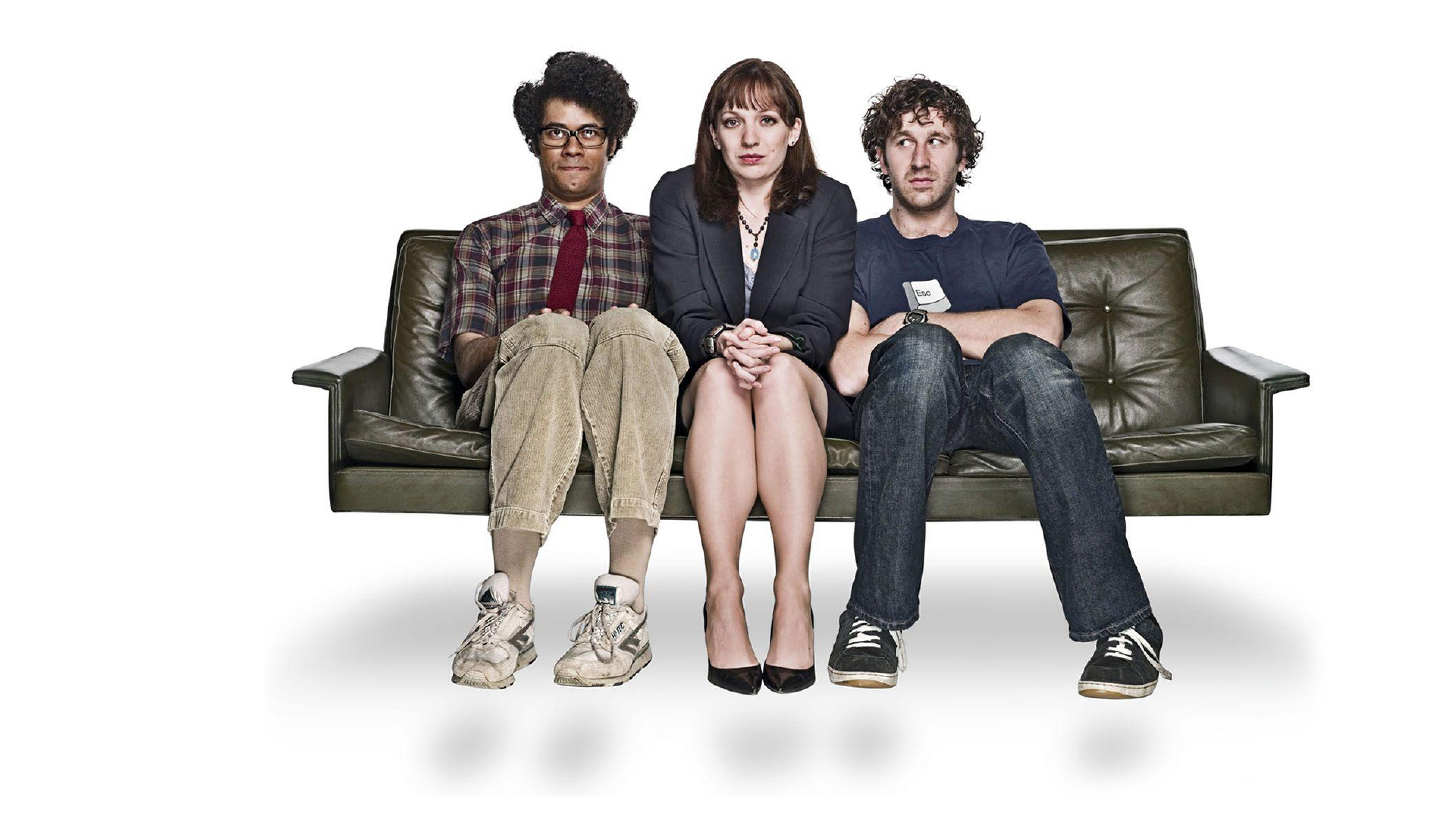 3840x2160  Wallpaper the it crowd, richard ayoade, katherine parkinson