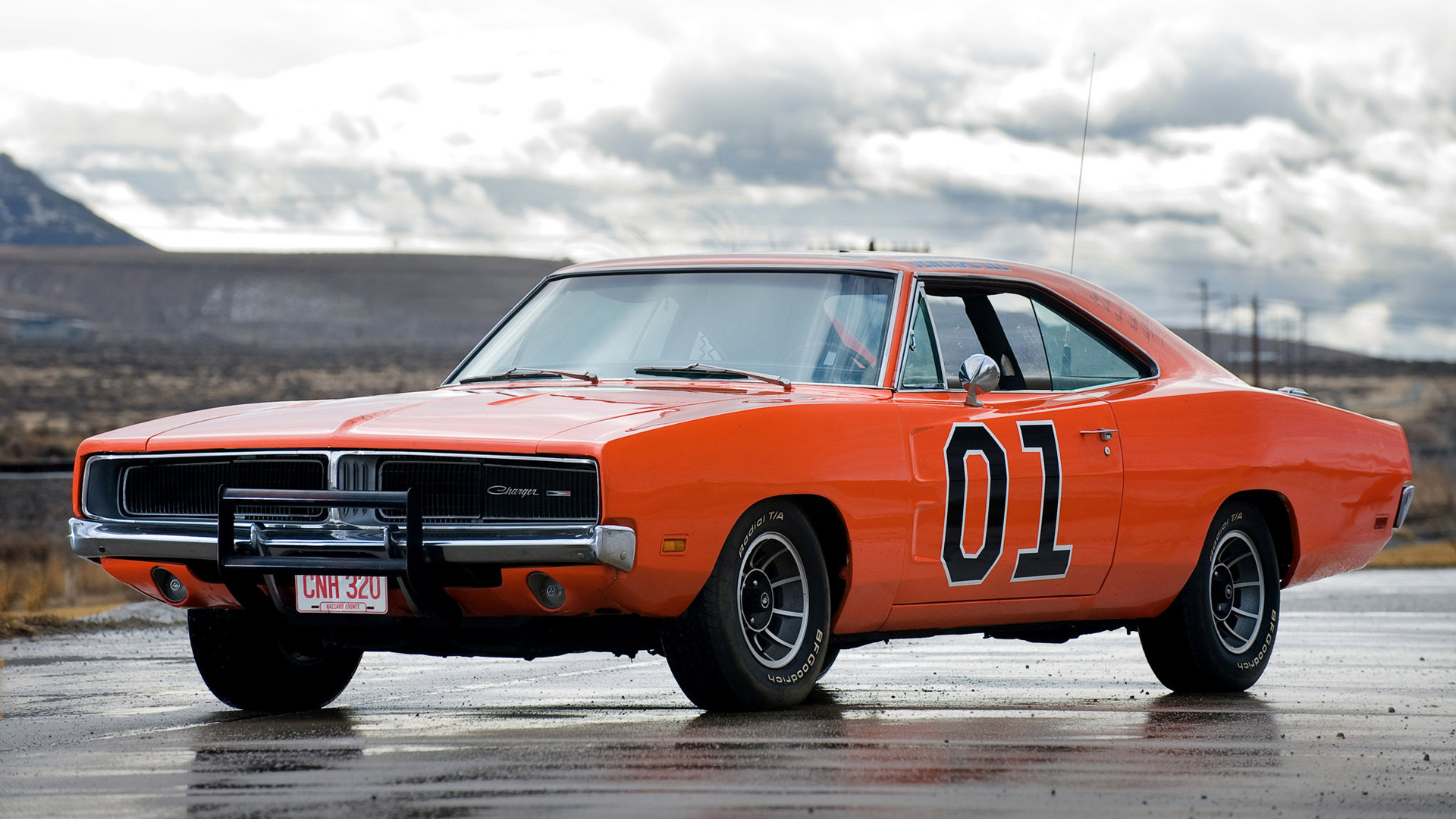 1920x1080 1969 Dodge Charger General Lee picture.