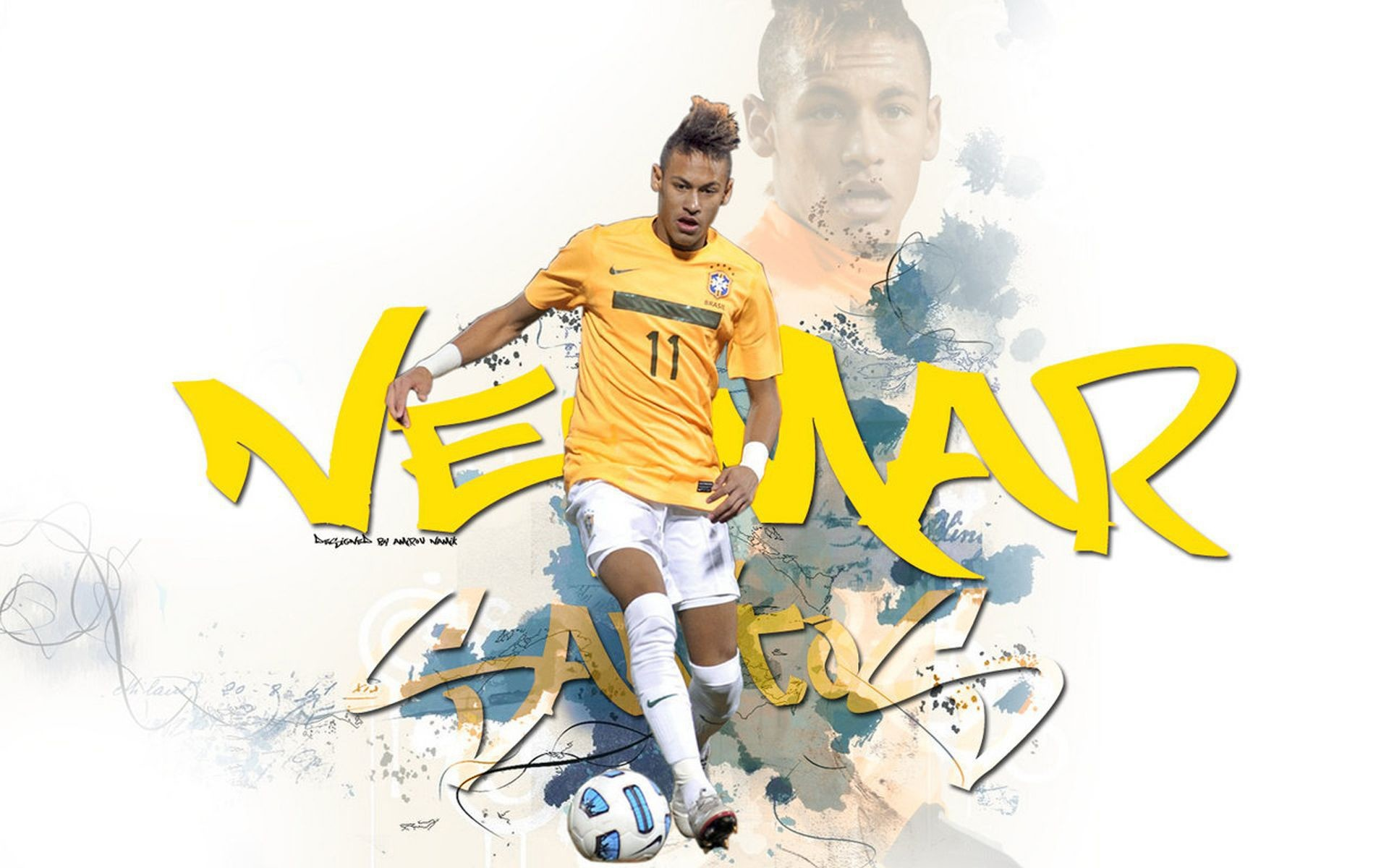 1920x1200 Free Download Cool Neymar Wallpapers HD.