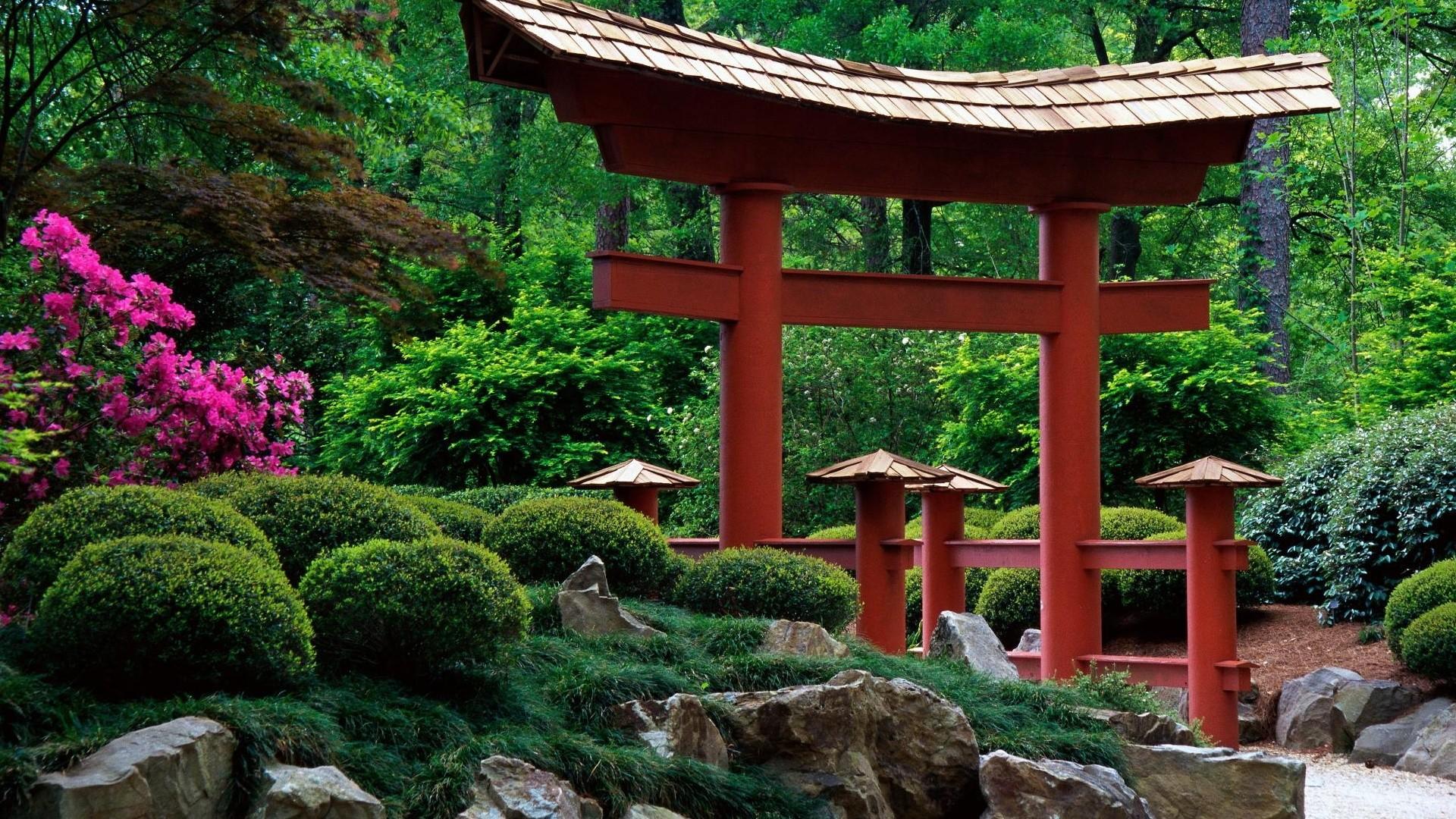 Minecraft Japanese Garden