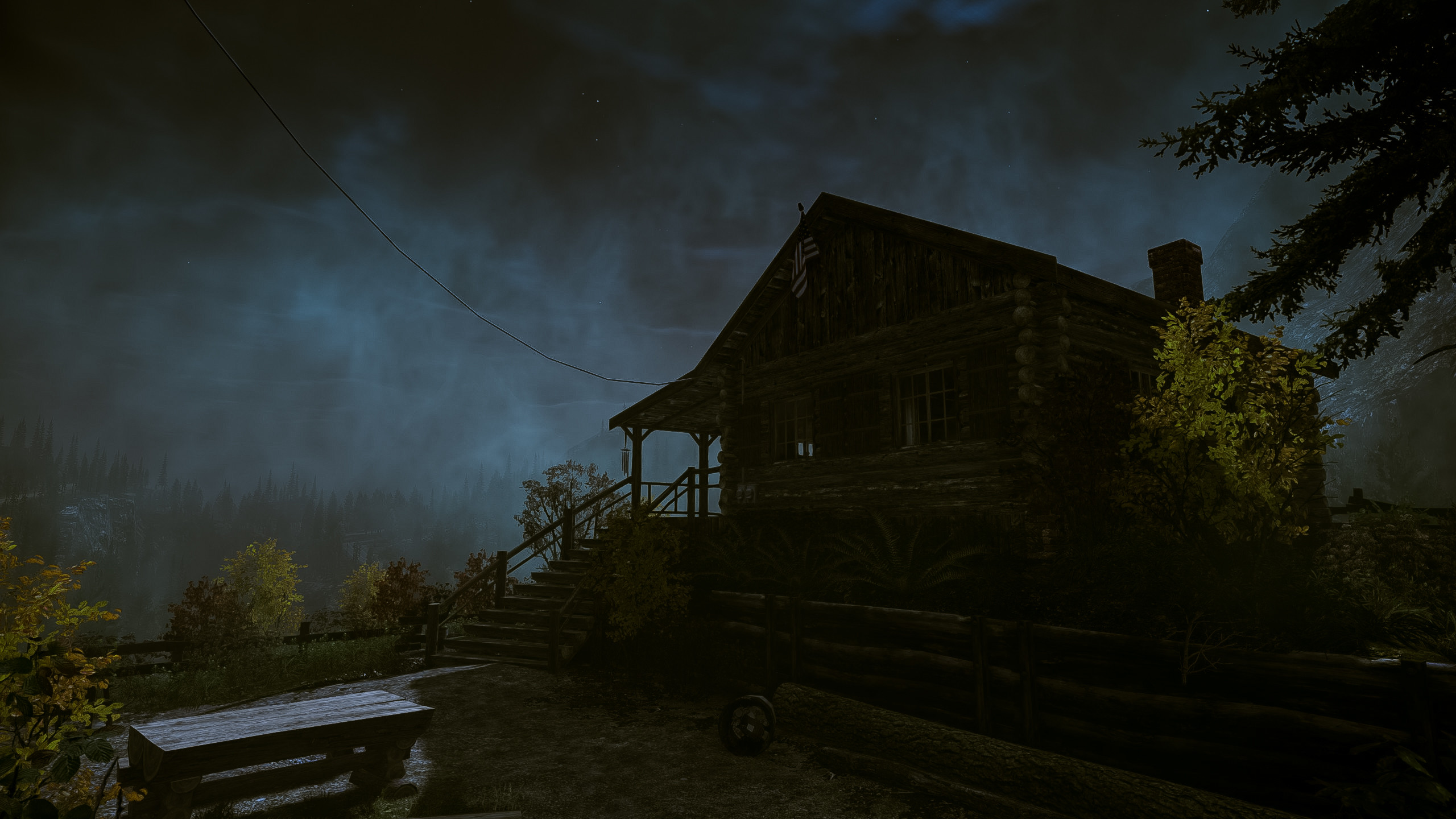 2560x1440 ... Alan Wake - Cabin by wolfleben