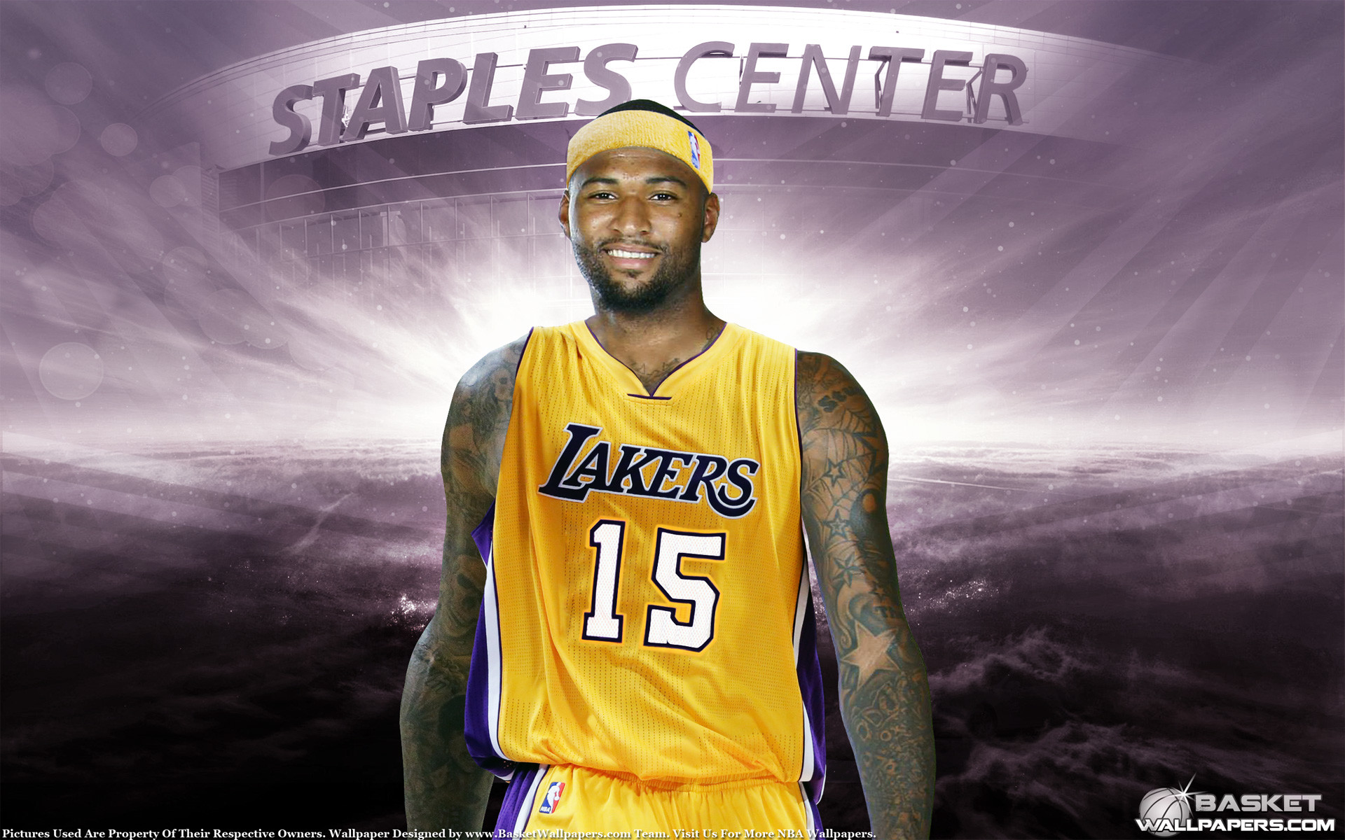 1920x1200 DeMarcus Cousins LA Lakers 1920×1200 Wallpaper