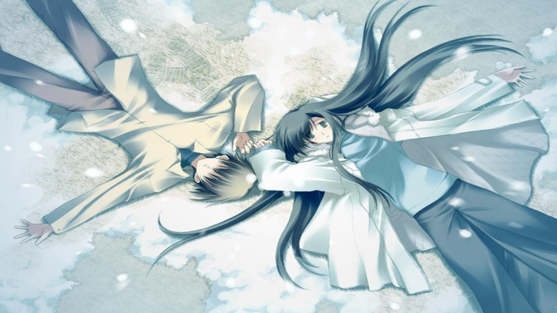 Sweet Anime Love Wallpaper Desktop : Anime couple Wallpaper (74+ images)