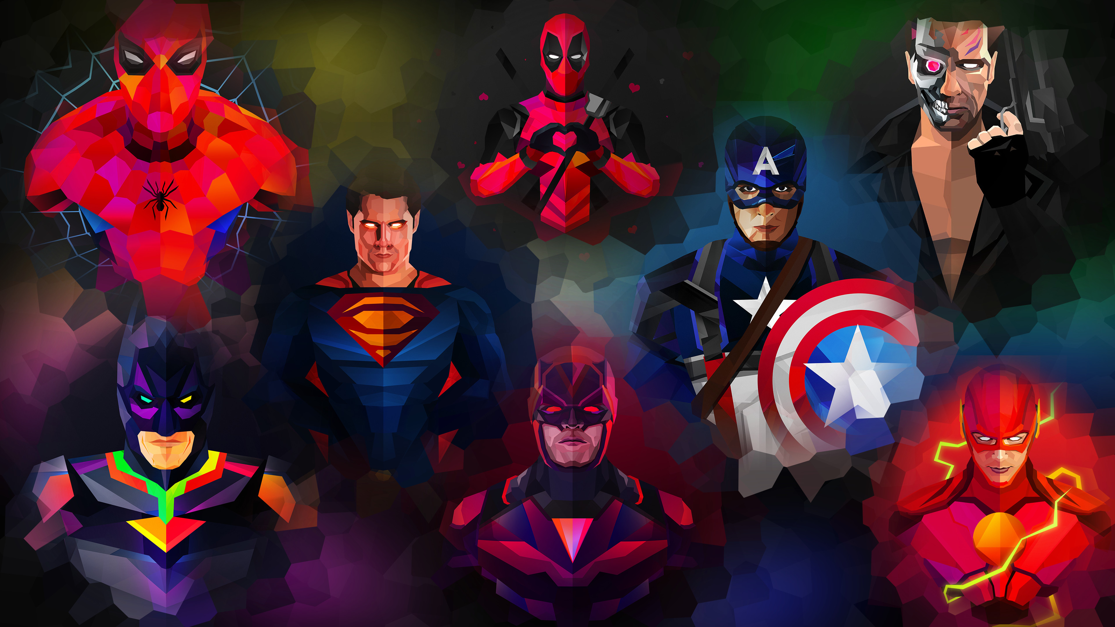 3840x2160 Superhero 4k Wallpaper