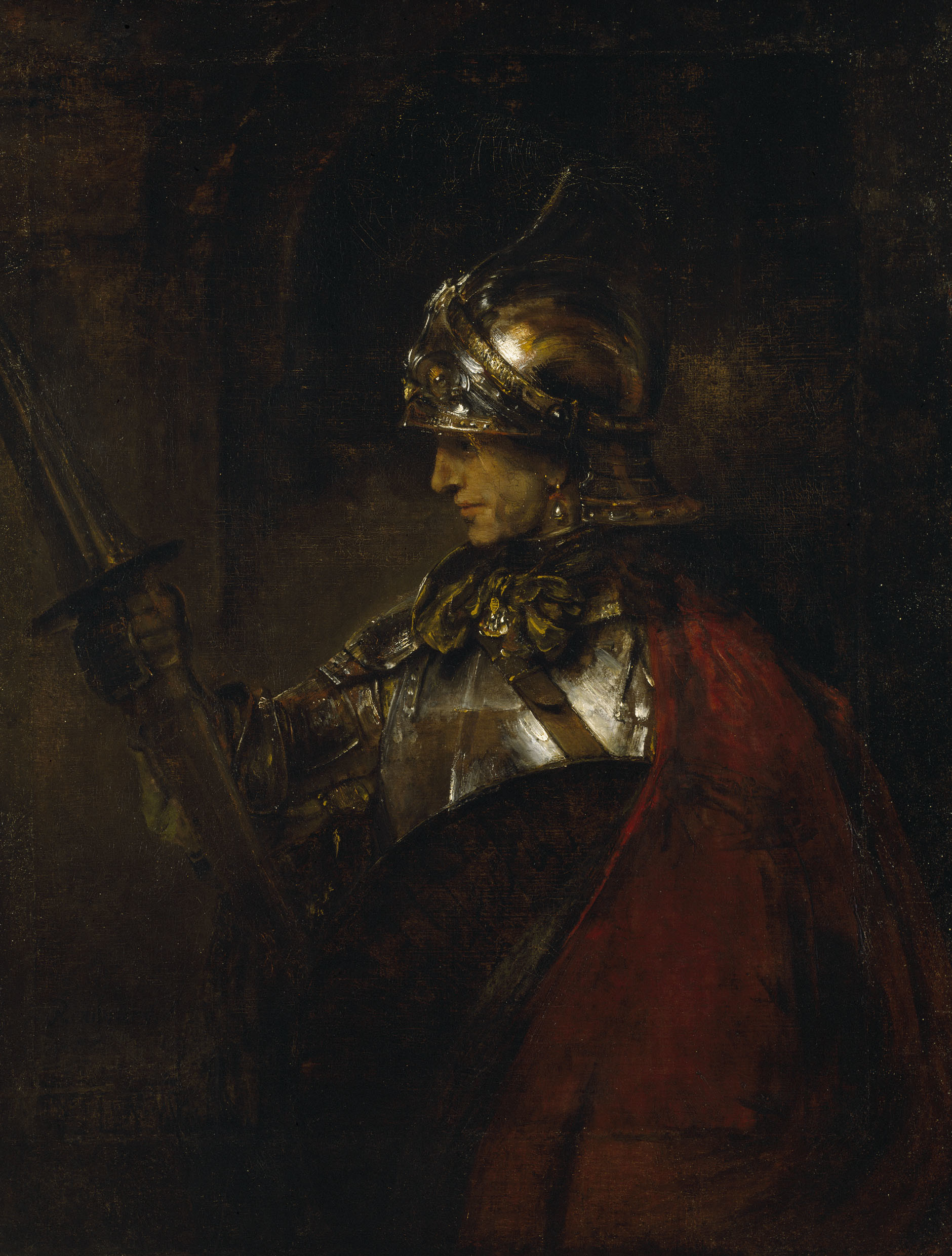 1880x2480 File:Rembrandt Man in Armour.jpg