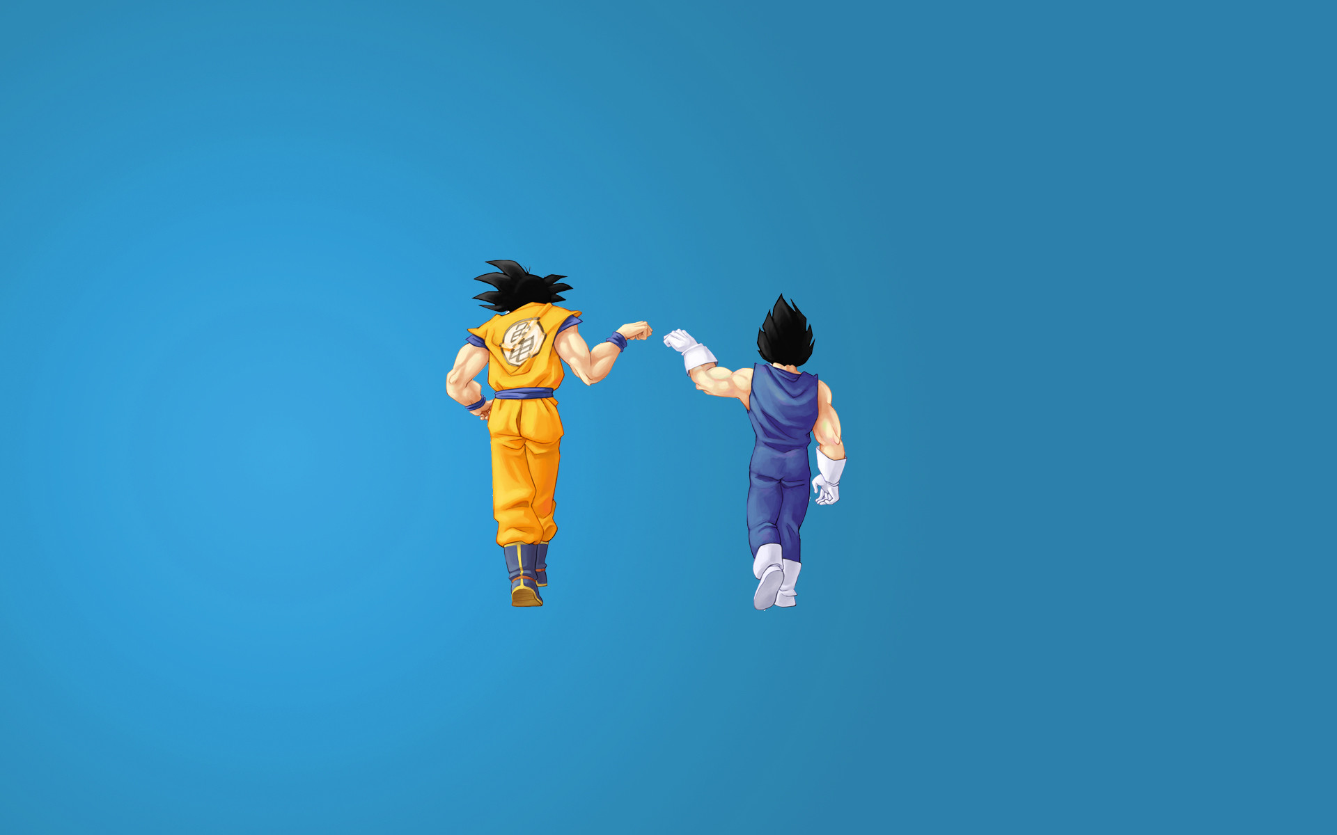Goku And Vegeta All Forms Wallpaper