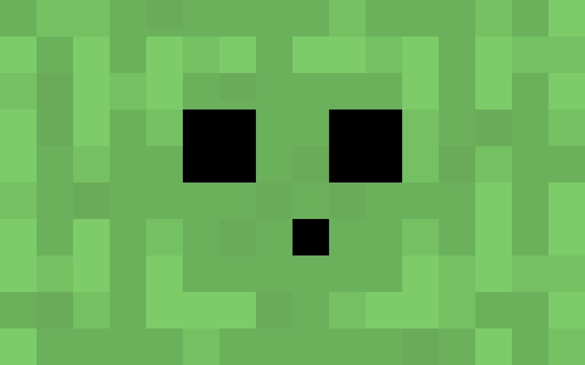 1920x1200 Creeper Wallpaper - Minecraft Wallpaper