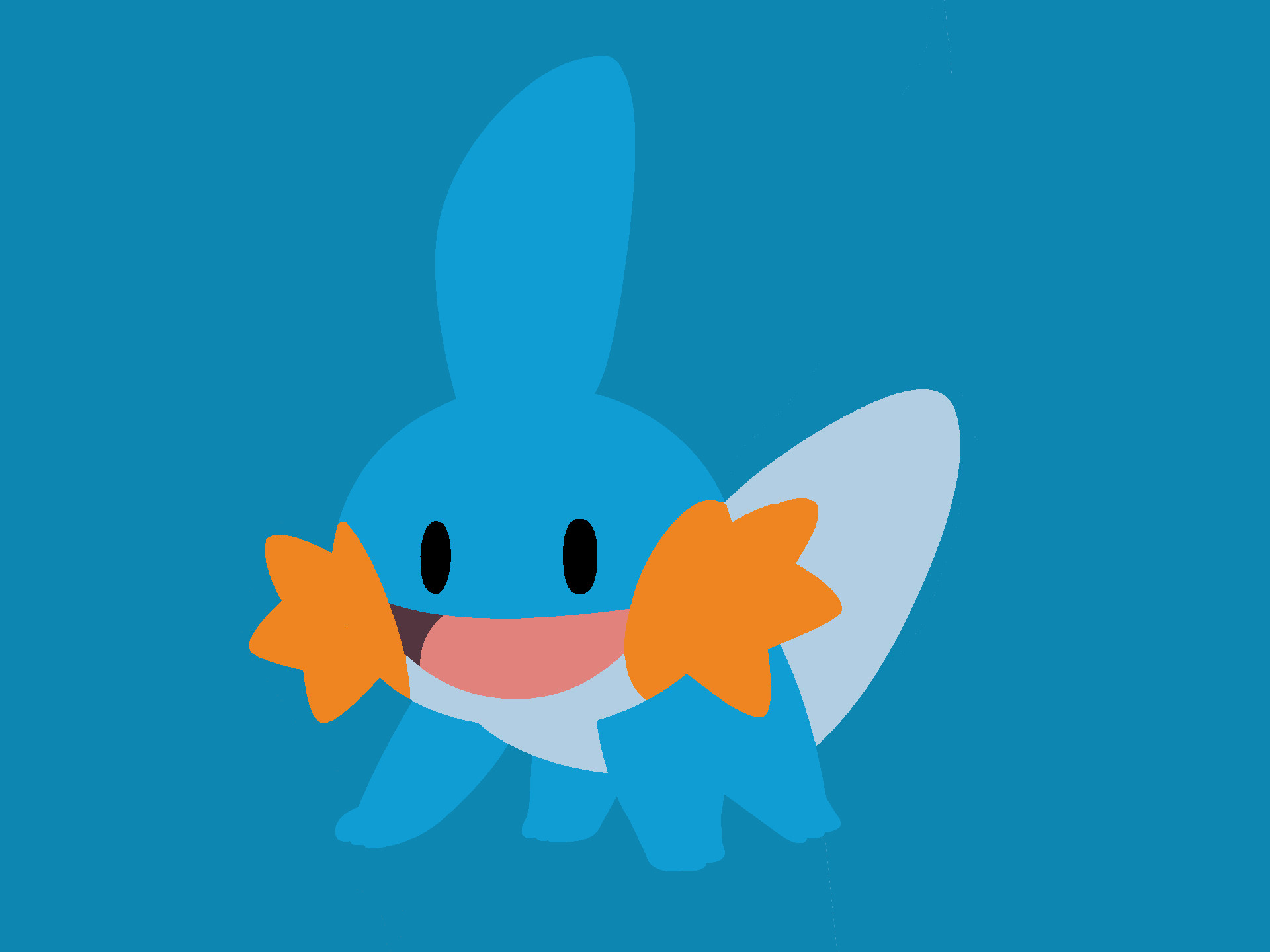 1920x1440 ... Mudkip Vector art by Cyber-Metroid