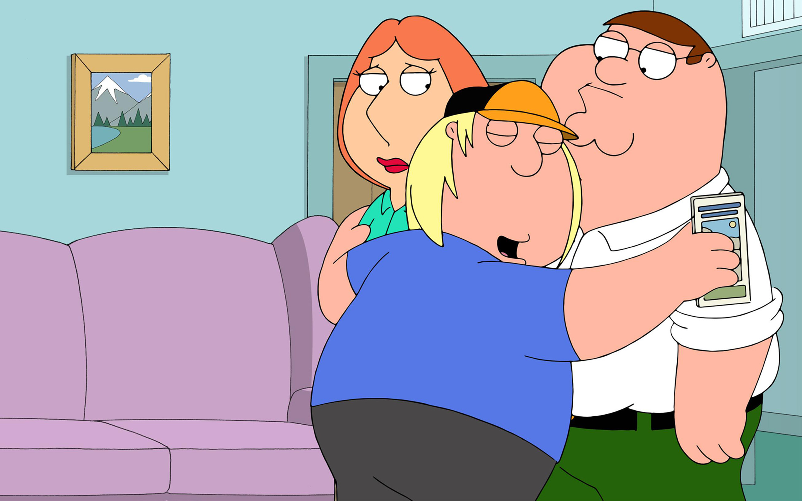 2560x1600 Family Guy Hug