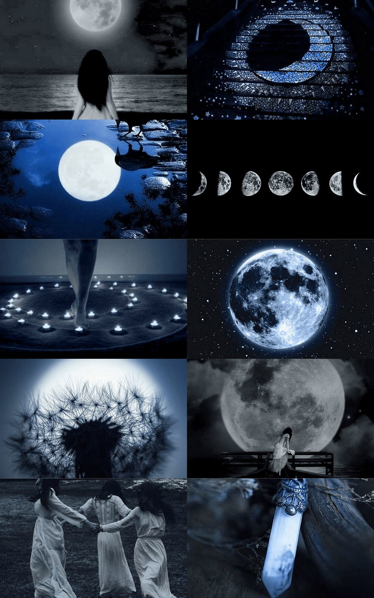 1200x1920 witch aesthetic | Tumblr Witch Aesthetic, Aesthetic Collage, Blue  Aesthetic, Aesthetic Wallpapers,
