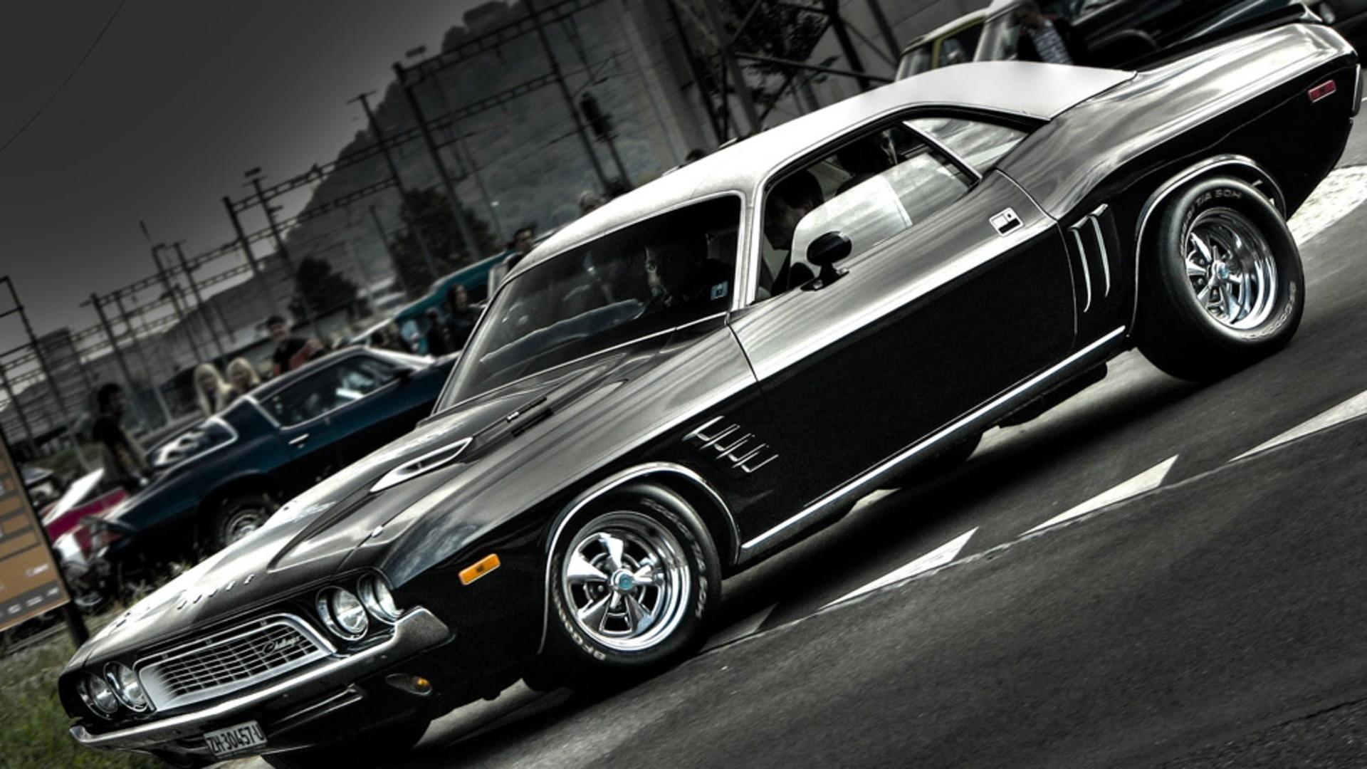 girls and muscle cars wallpaper (59+ images)