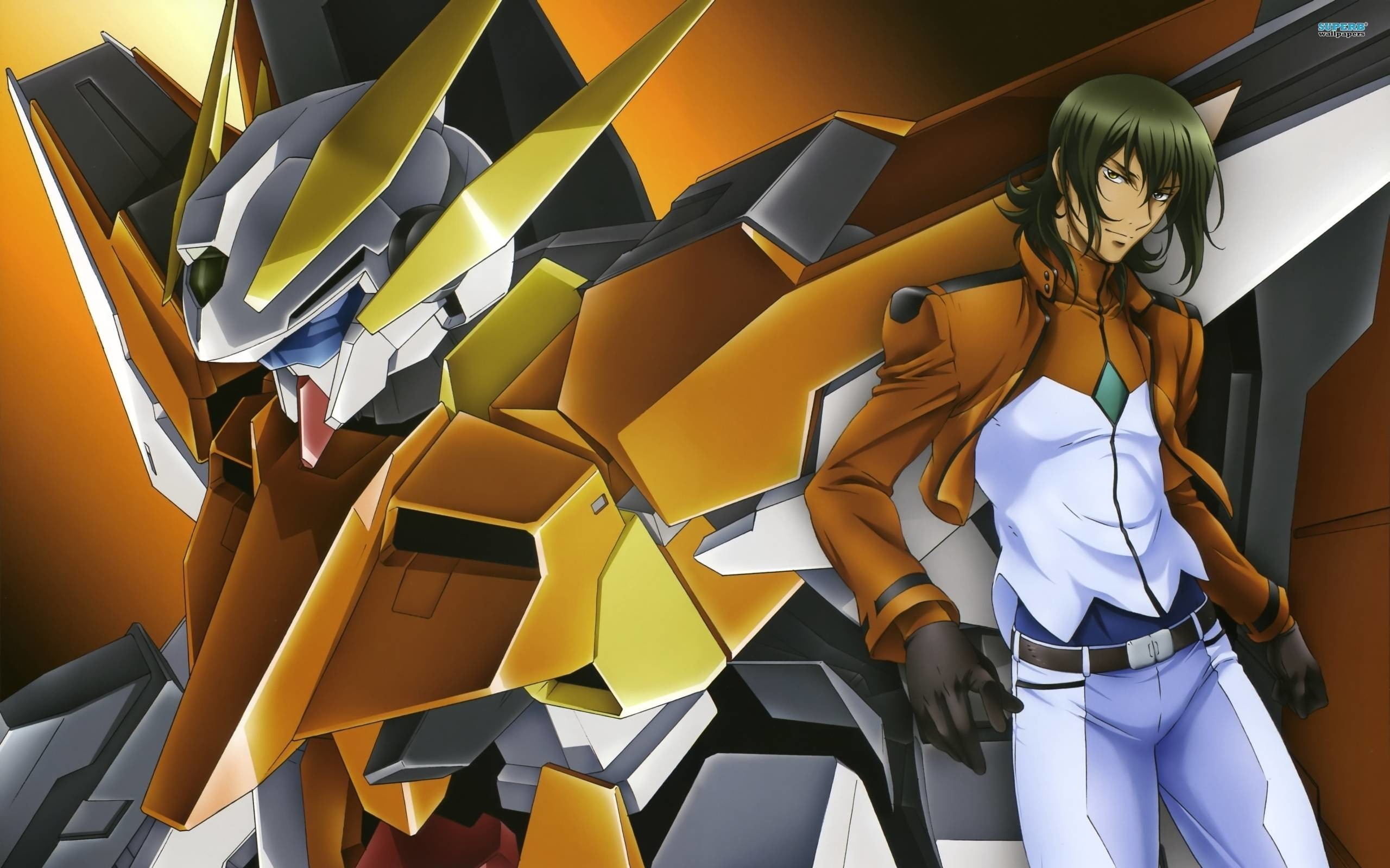 2560x1600 Mobile Suit Gundam 00 wallpaper - Anime wallpapers - #7164