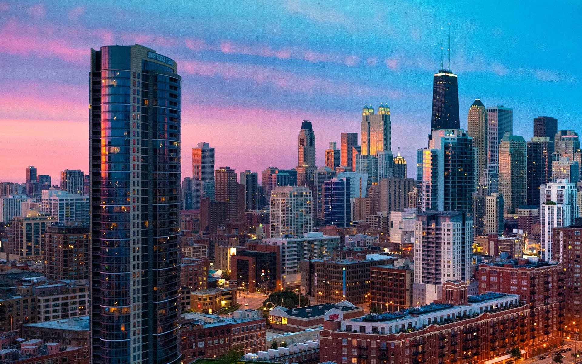 1920x1200 Chicago Desktop HD Wallpaper 18677