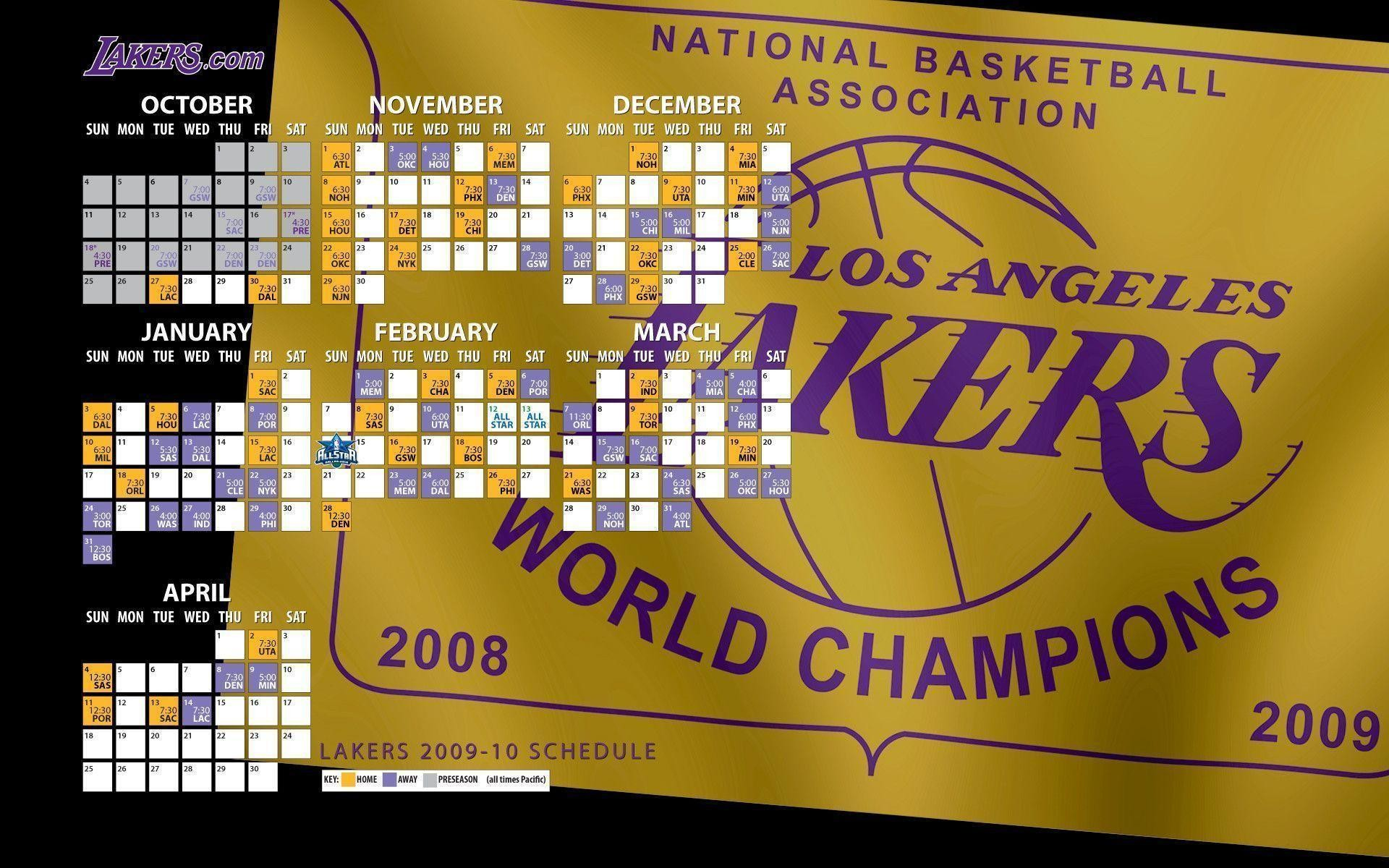 1920x1200 Lakers Desktop Wallpapers 2009-10 | THE OFFICIAL SITE OF THE LOS .