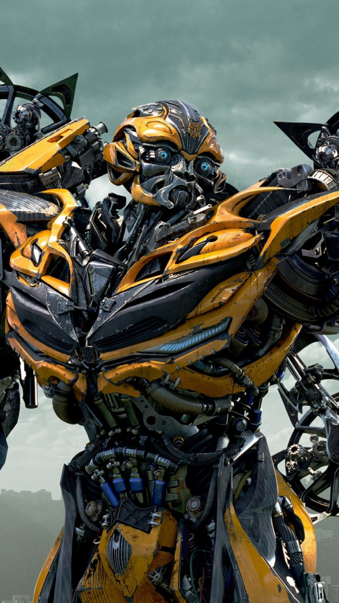 1080x1920  Wallpaper transformers age of extinction, autobot, bumblebee