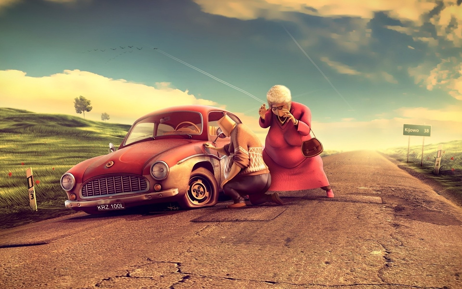 Wallpaper Cars Cartoon 62 Images
