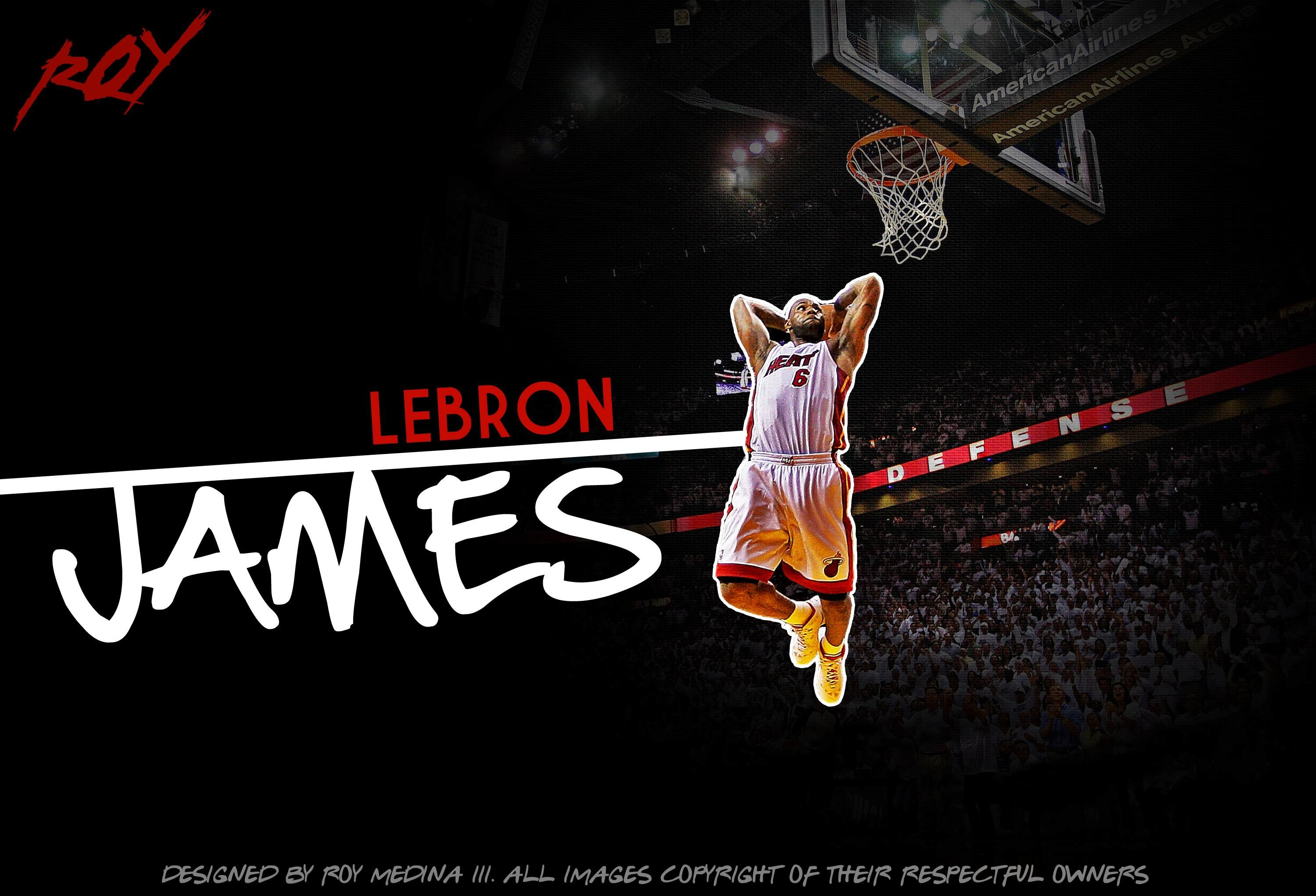3000x2043 Wallpapers For > Lebron James Wallpaper Heat Dunk