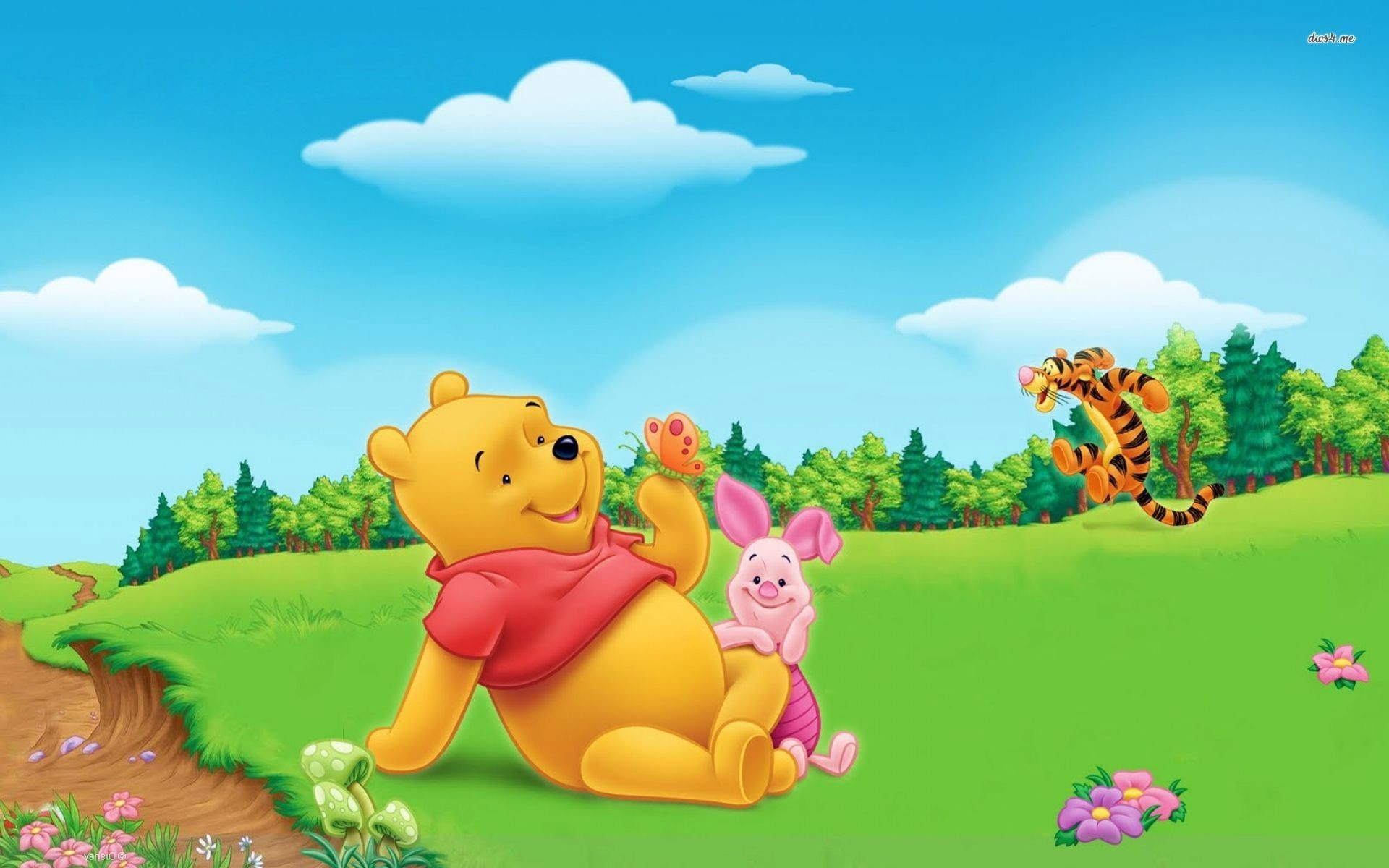 1920x1200 baby pooh wallpaper #273433
