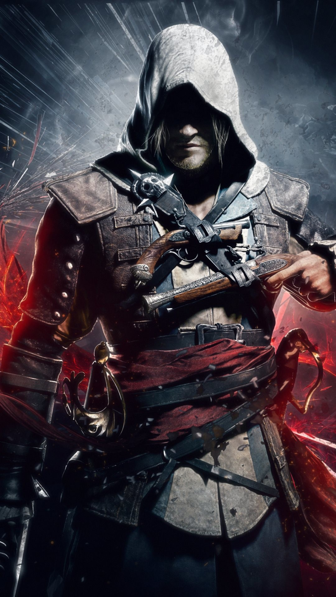 1080x1920 video game iphone wallpapers Assassin's Creed IV Black Flag