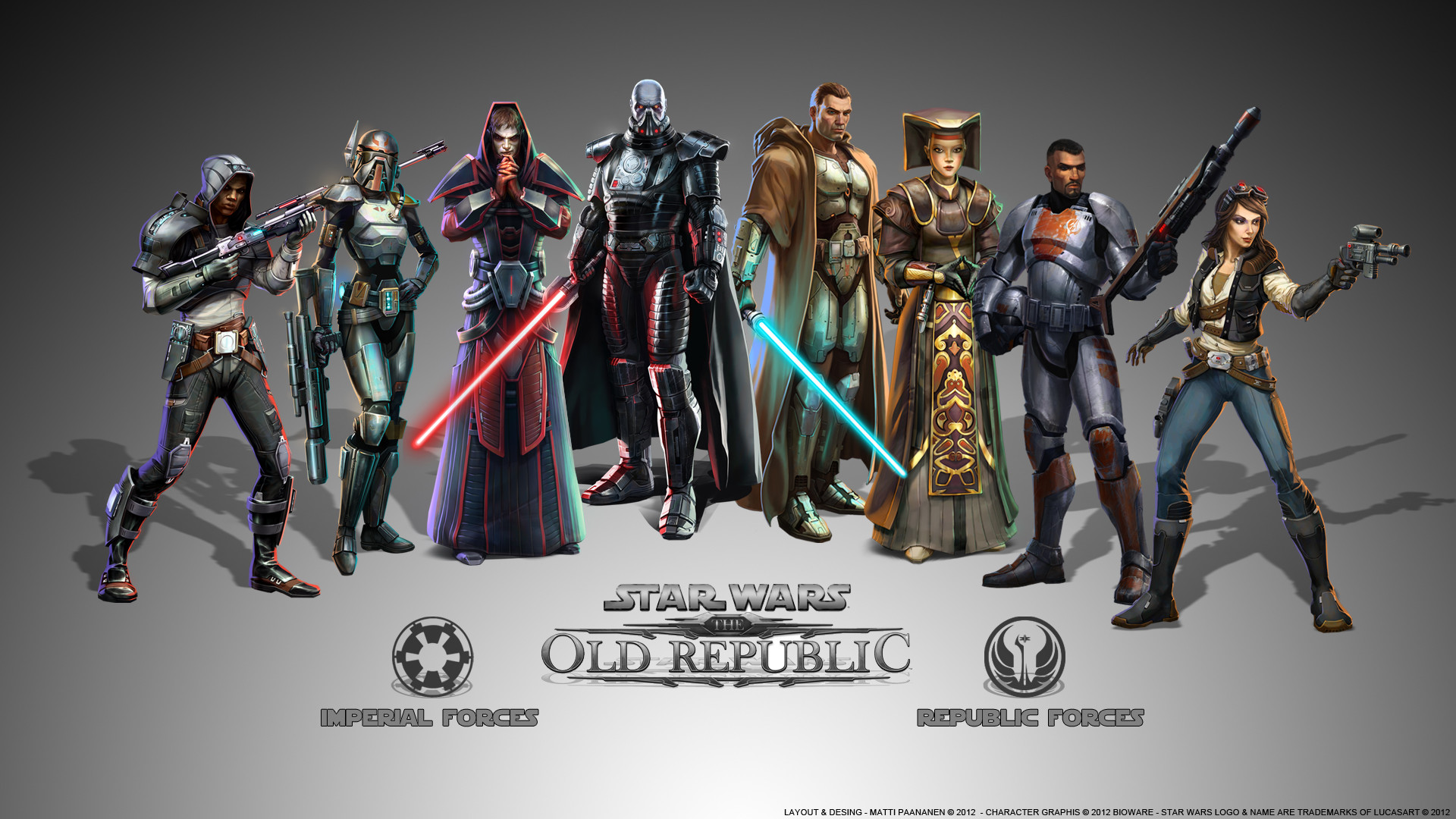 1920x1080 StarWars: the old republic images Classes of SWTOR HD wallpaper and  background photos