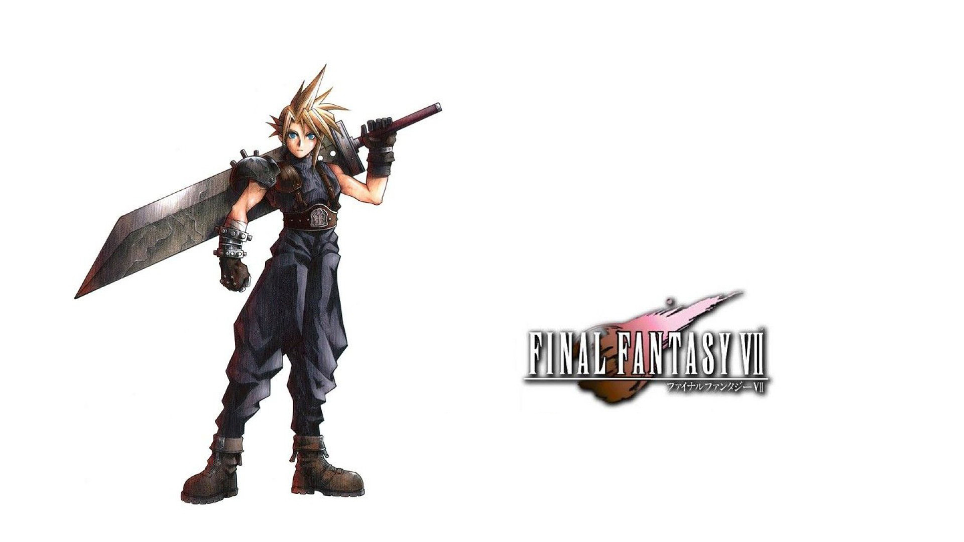 1920x1080 Final Fantasy 7 Cloud Wallpaper