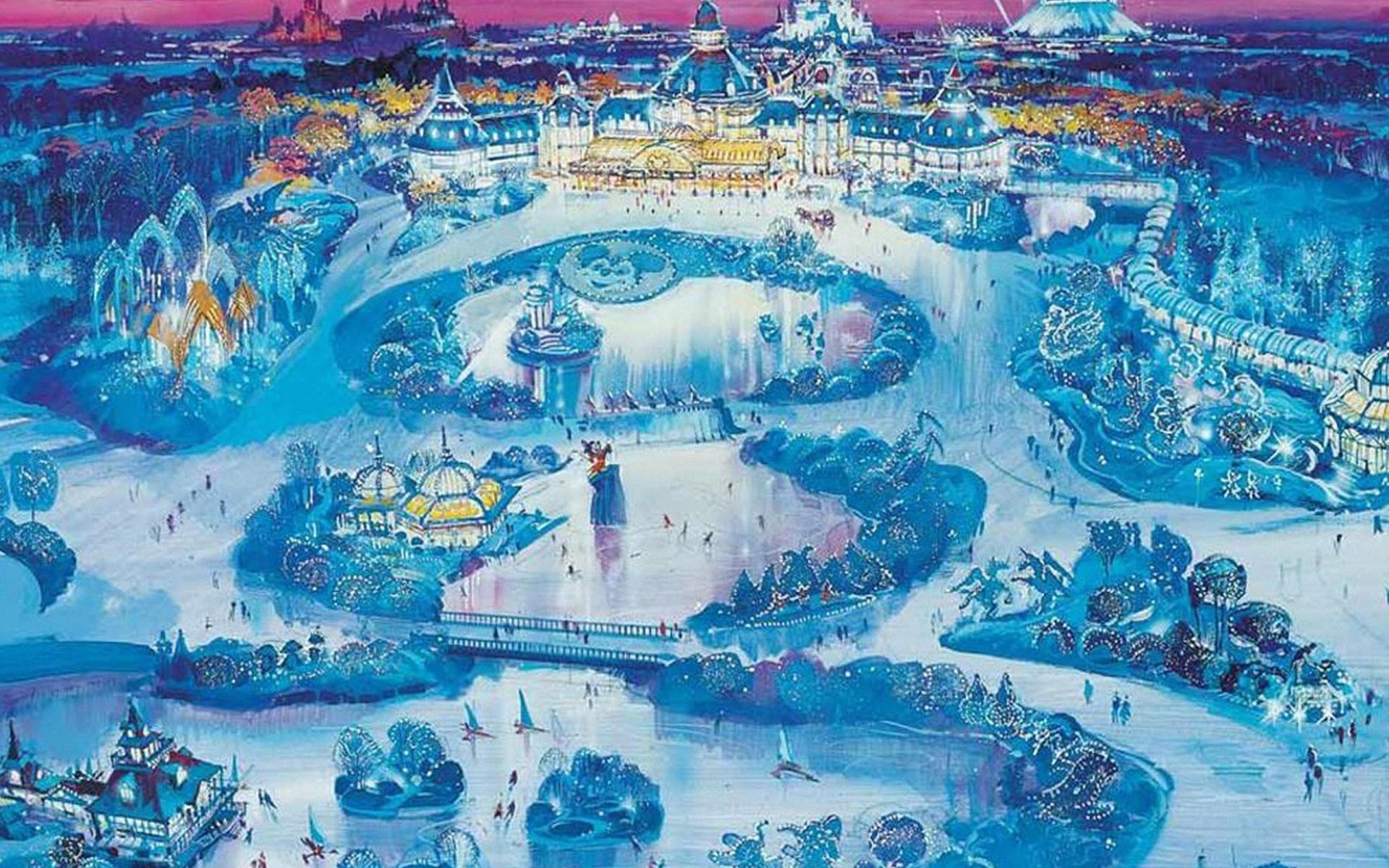 Disney Winter Wallpaper (60+ images)