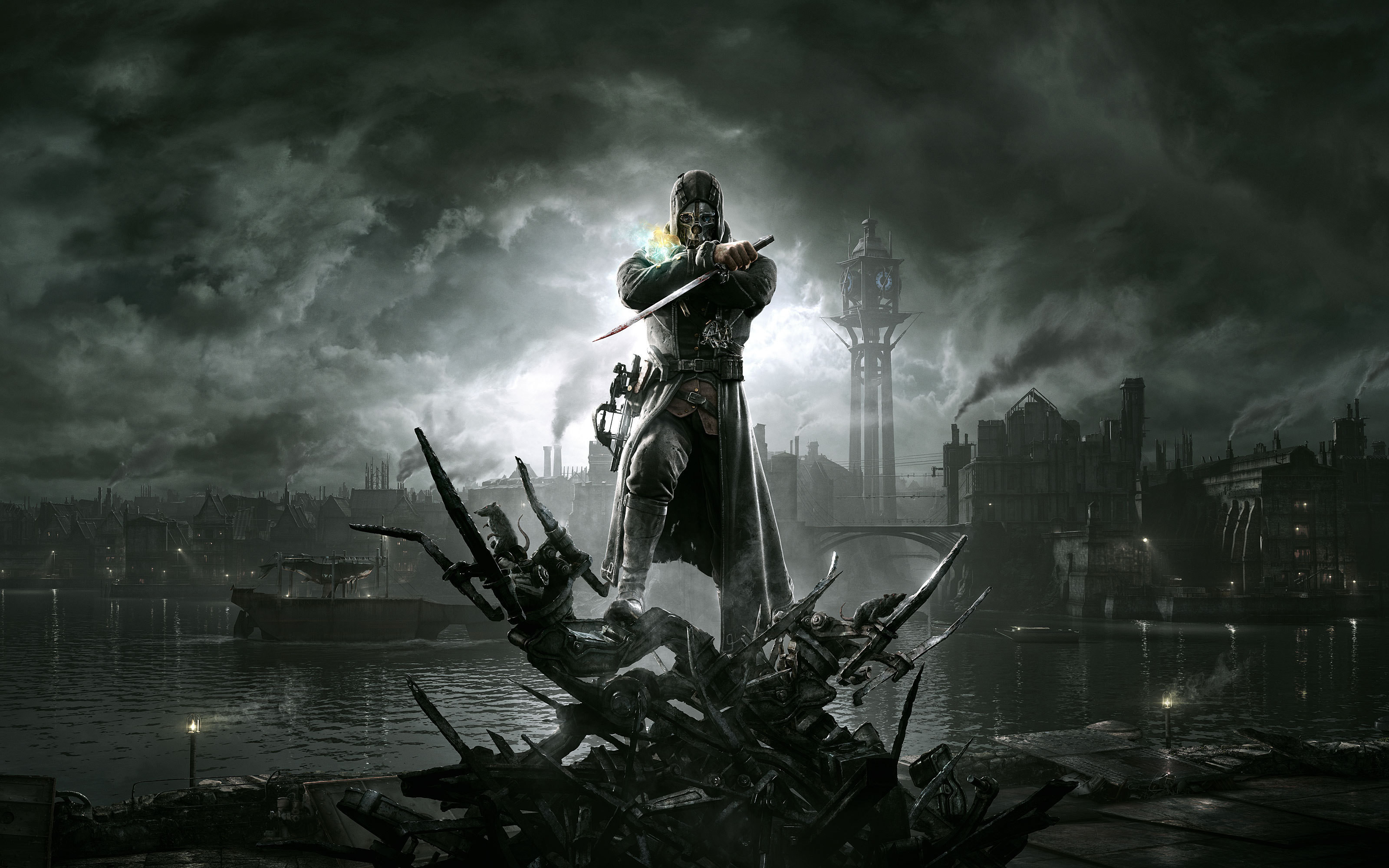 3200x2000 78 Dishonored HD Wallpapers | Backgrounds - Wallpaper Abyss