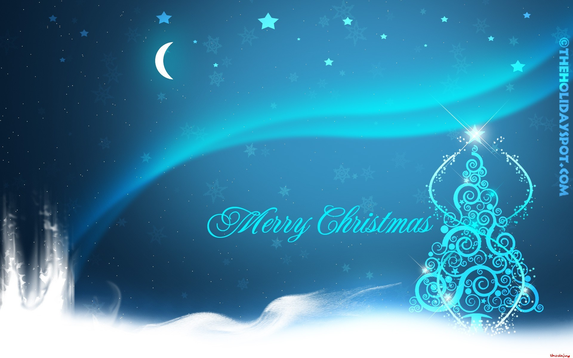 1920x1200 Merry Christmas Wallpaper 15