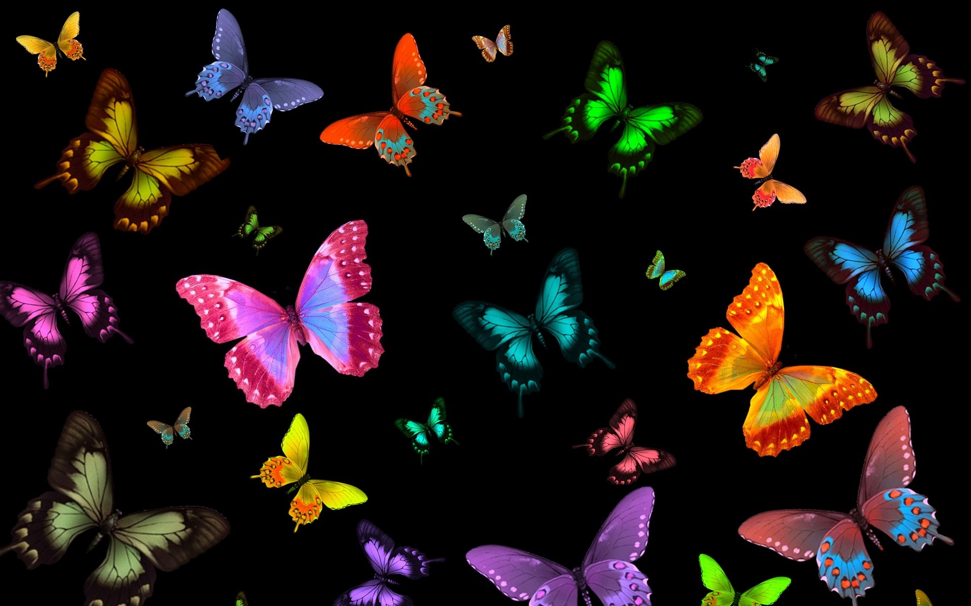 2400x2142 Pin Butterfly Clipart Silhouette 13