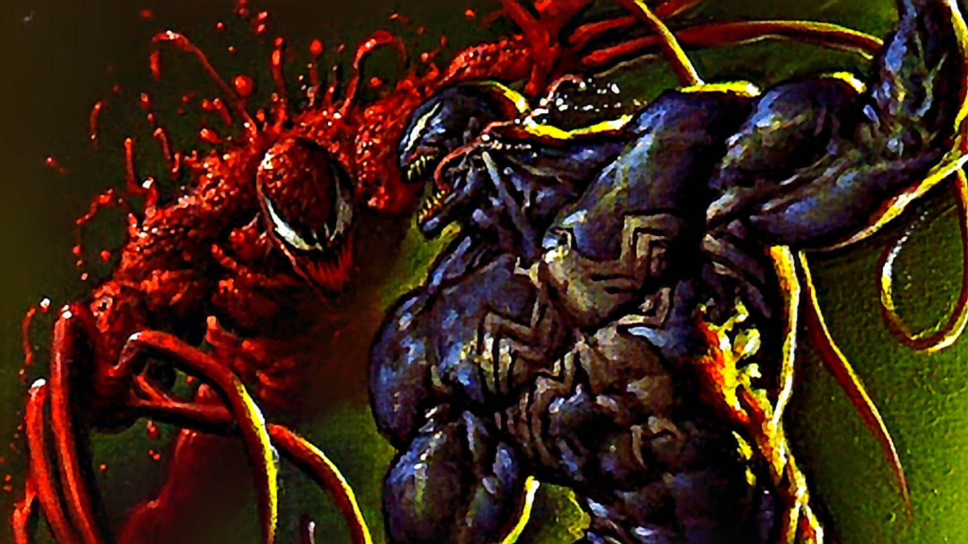 1920x1080 Carnage Versus Venom Wallpaper Image HD taken from Carnage .