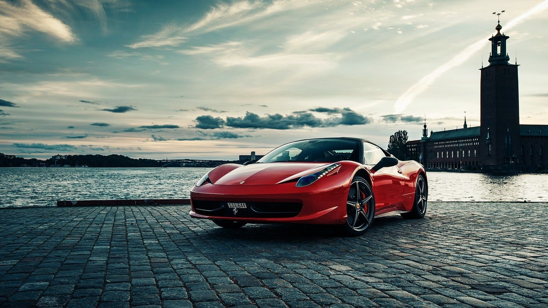 1920x1080 Ferrari 458 Italia Wallpapers HD