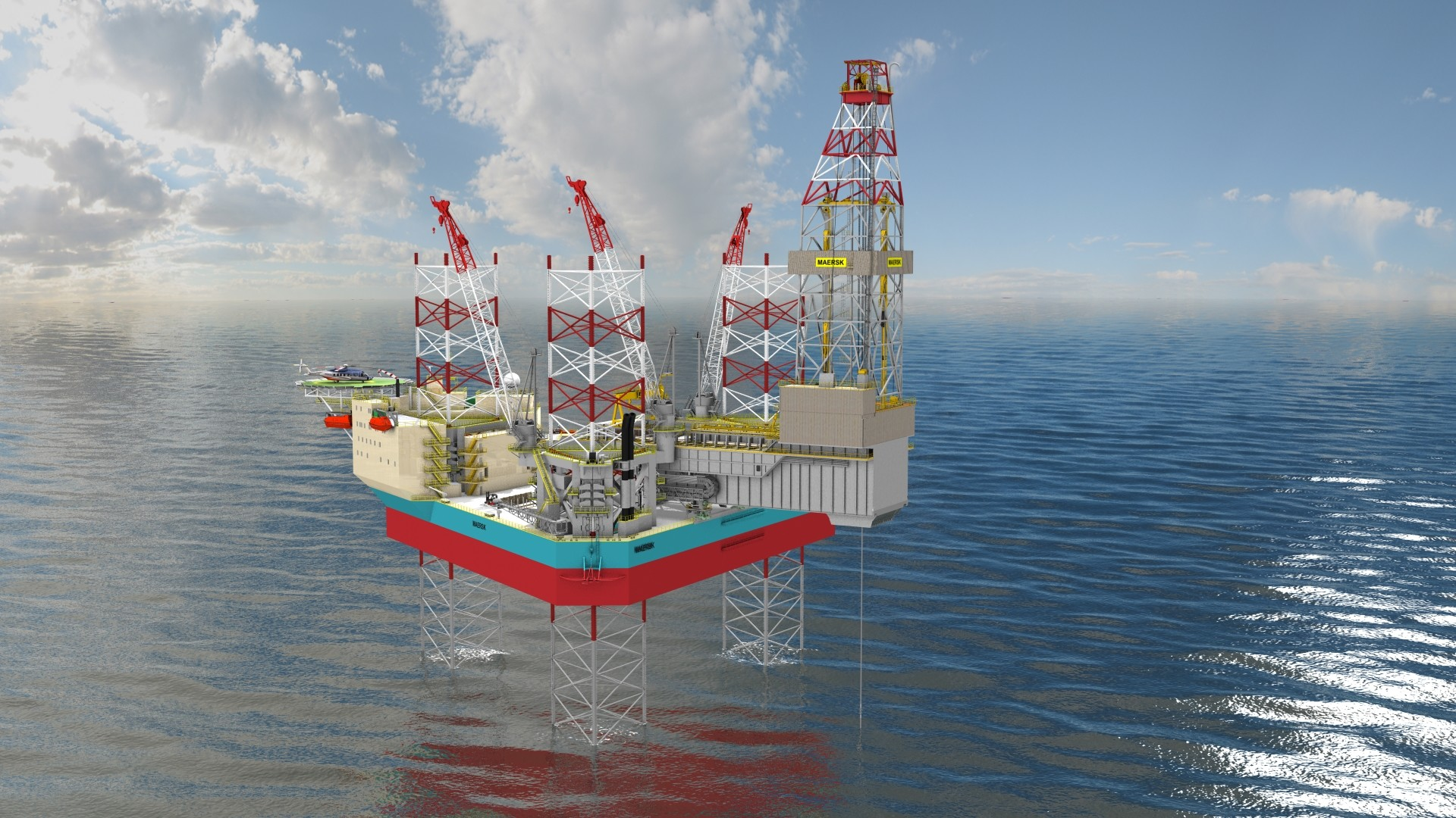 1920x1080 Norway: Maersk Drilling Receives LoA for Jack-Up Rig XL Enhanced 2