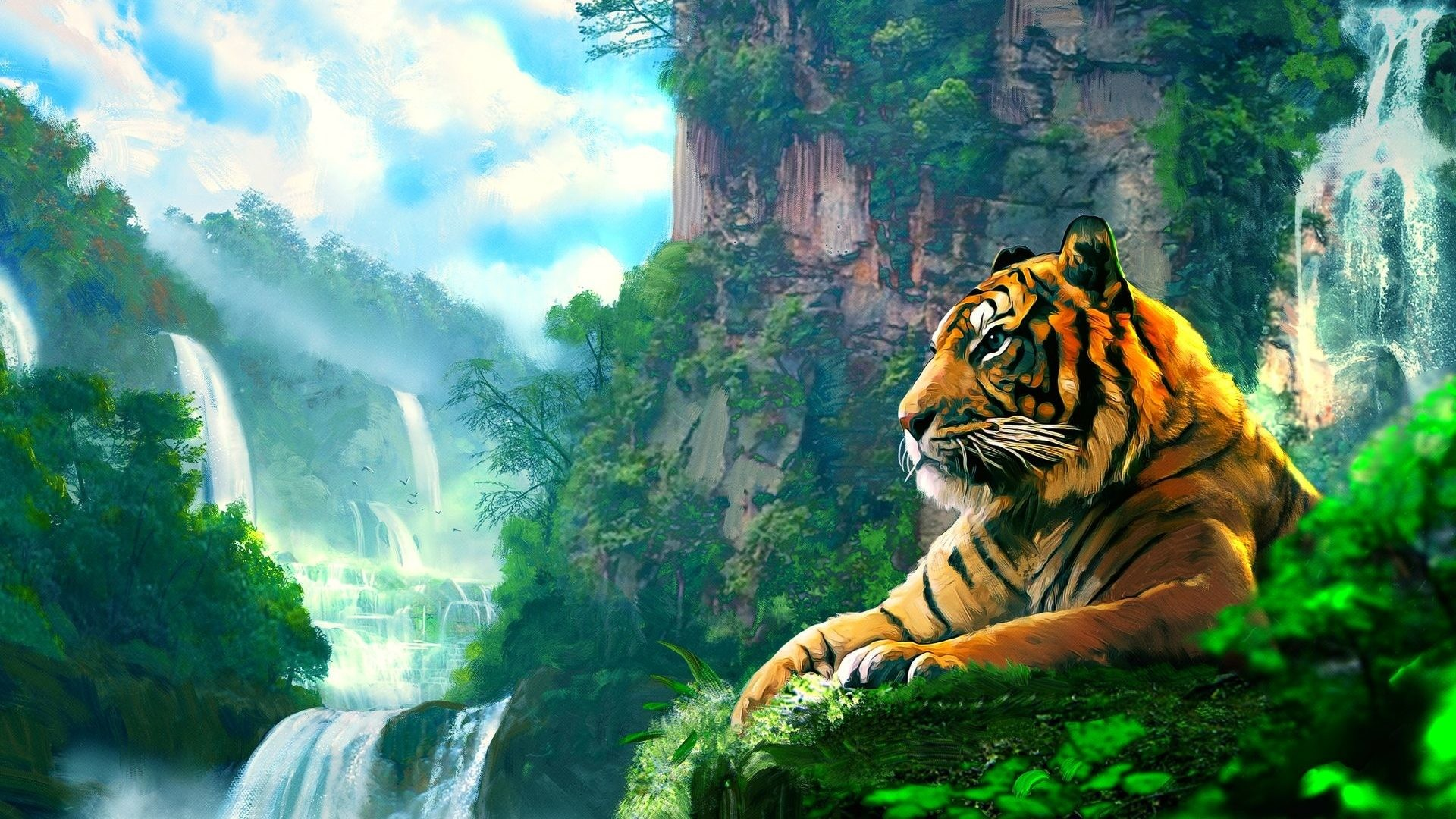 Fantasy nature wallpapers 74 images - Nature background 1920x1080 ...